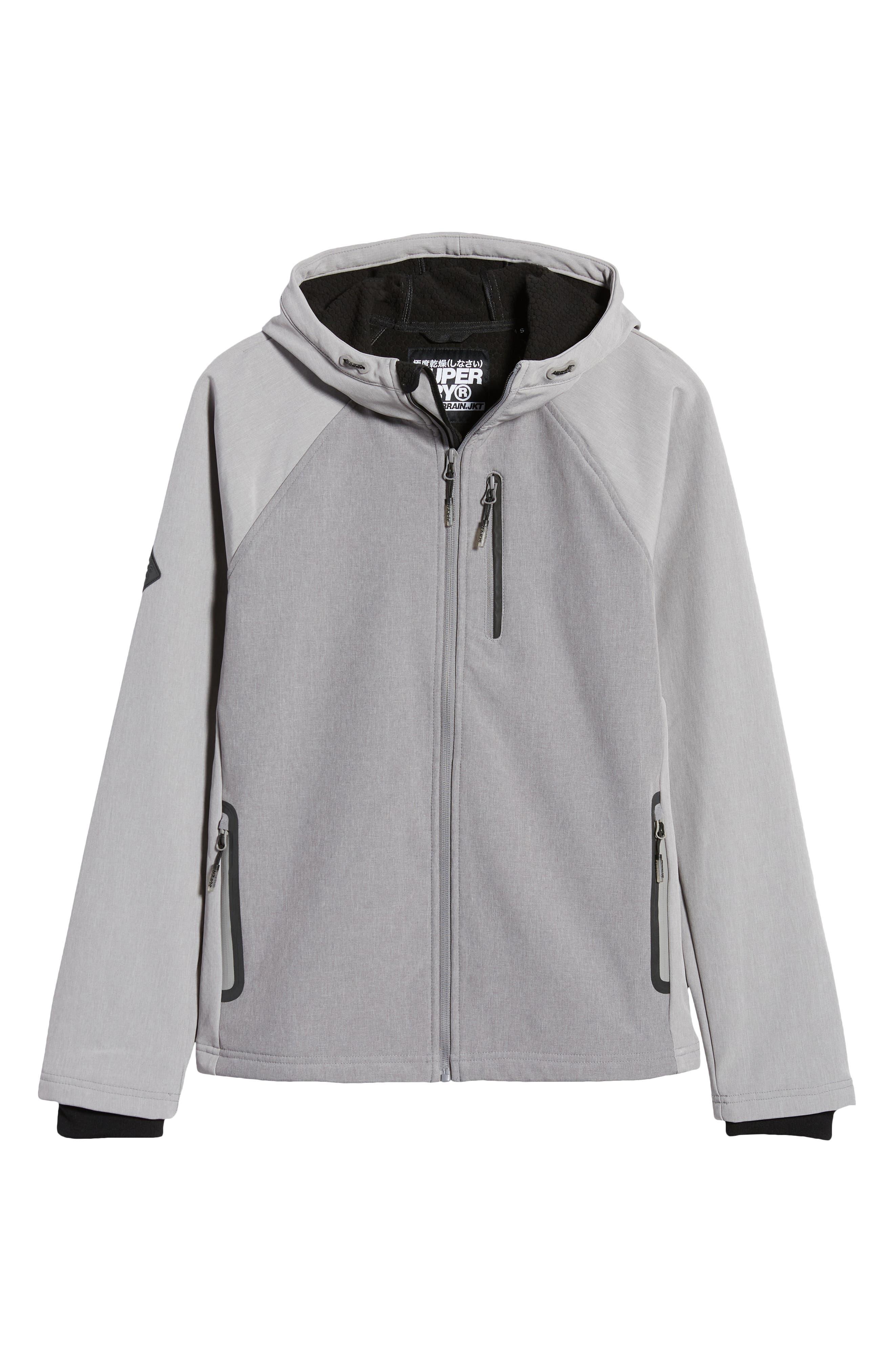 Talla XL Hombre Jacket Carter Putty Grey