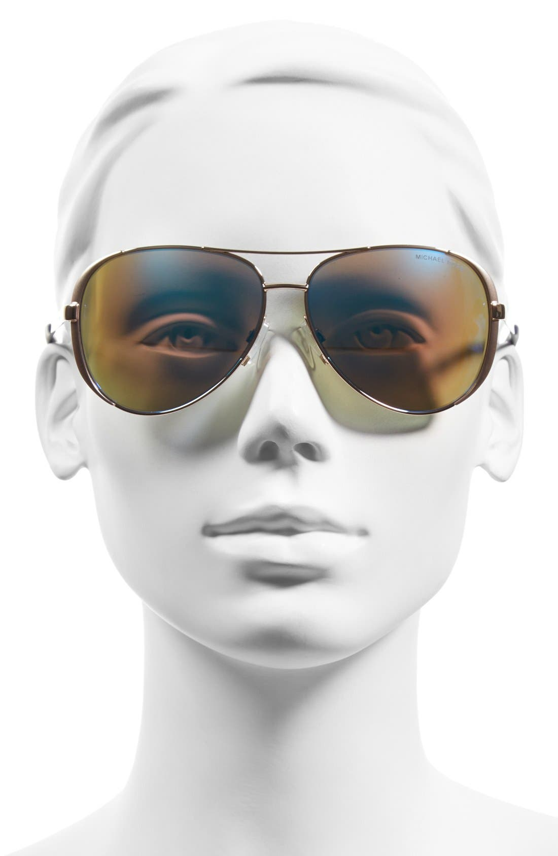 Alternate Image 2  - Michael Kors Collection 59mm Aviator Sunglasses