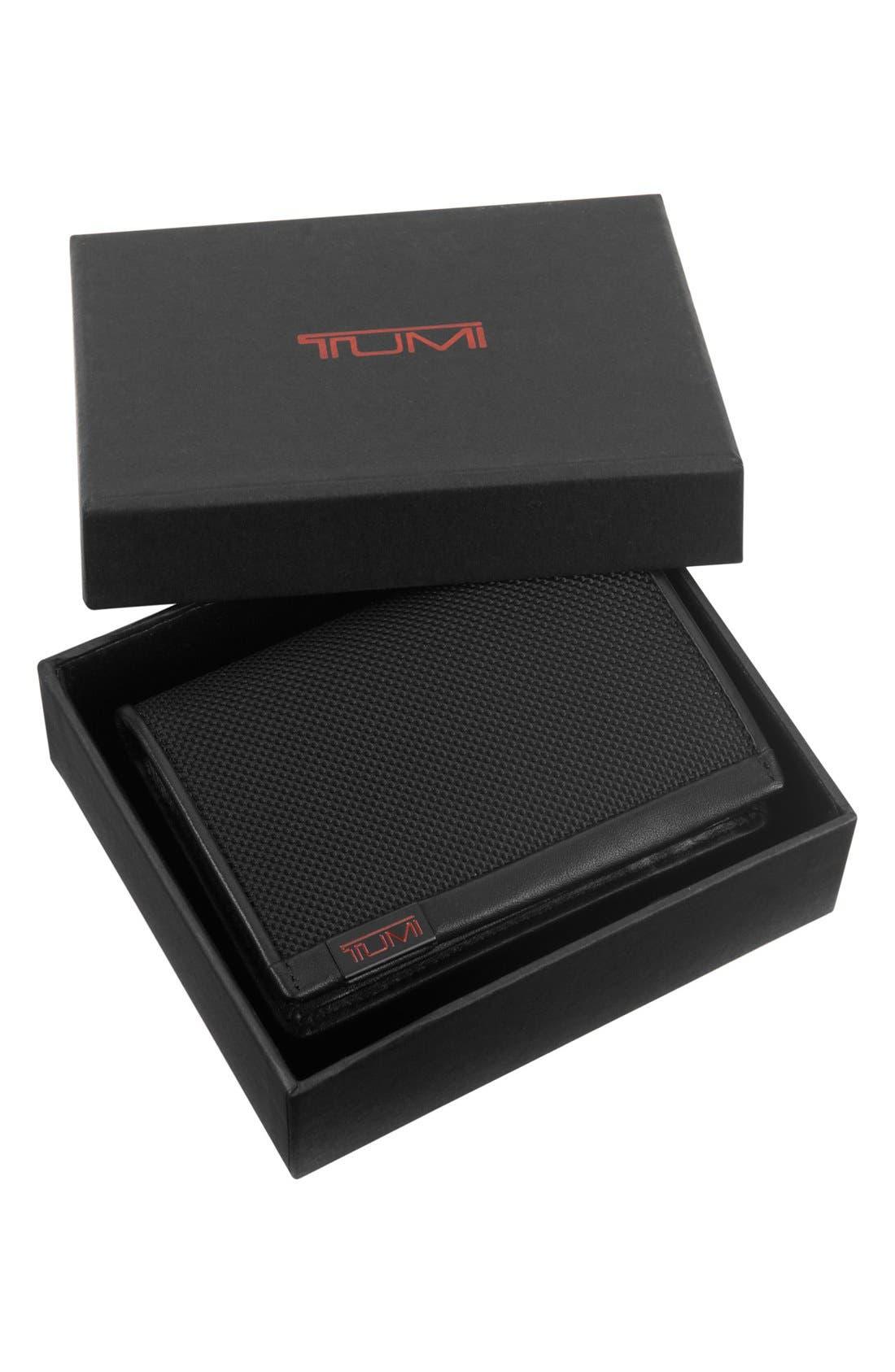 Alpha - ID Lock<sup>™</sup> Shielded Multi Window Card Case,                             Alternate thumbnail 4, color,                             Black