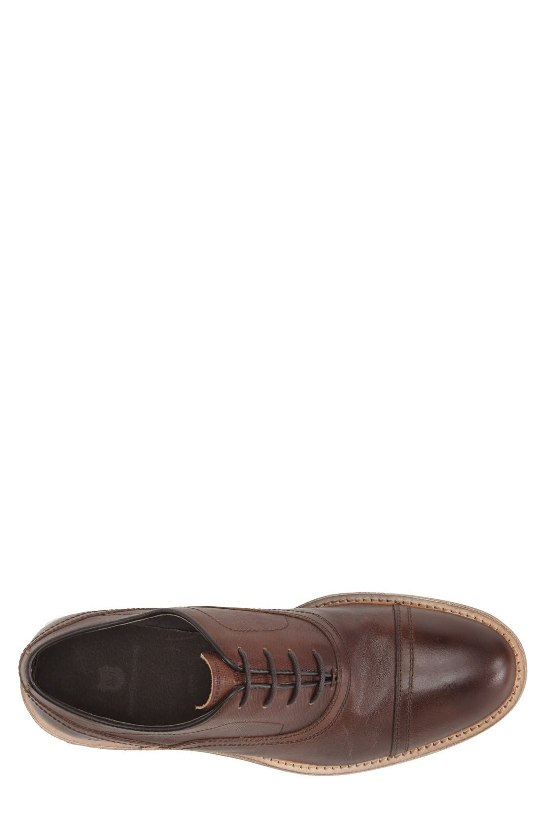 Alternate Image 3  - Andrew Marc 'Henry' Cap Toe Oxford (Men)