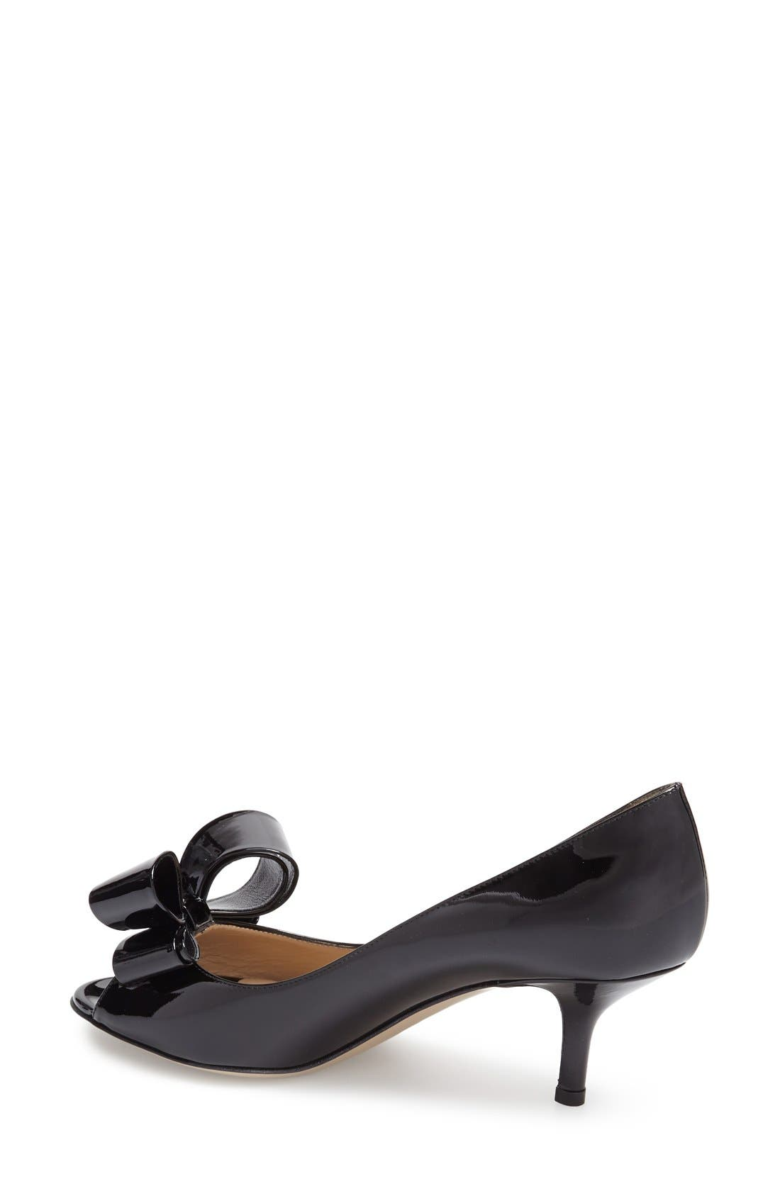 Alternate Image 2  - VALENTINO GARAVANI Couture Bow Pump (Women)