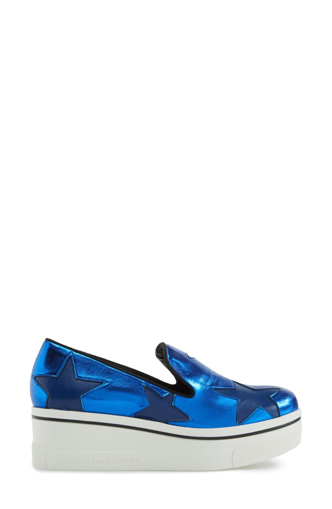 Alternate Image 4  - Stella McCartney 'Star' Platform Loafer (Women)