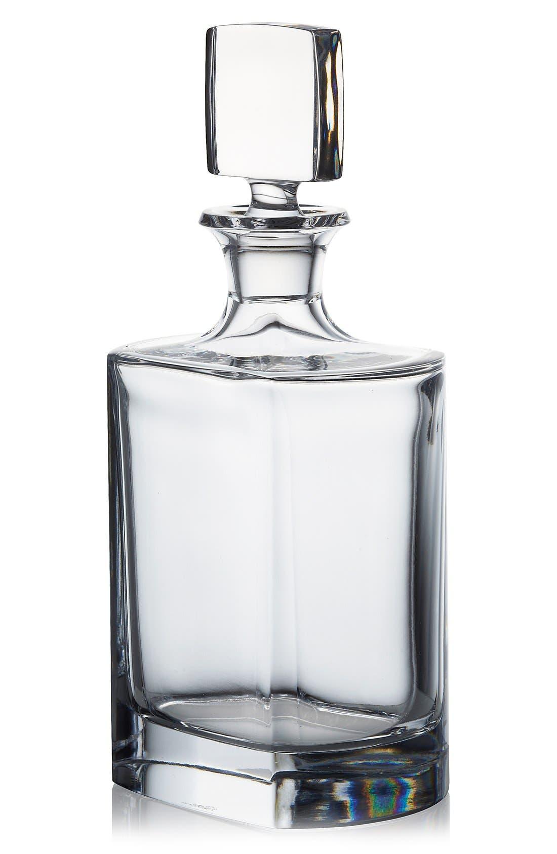 Alternate Image 1 Selected - Rogaska Crystal 'Manhattan' Whiskey Decanter