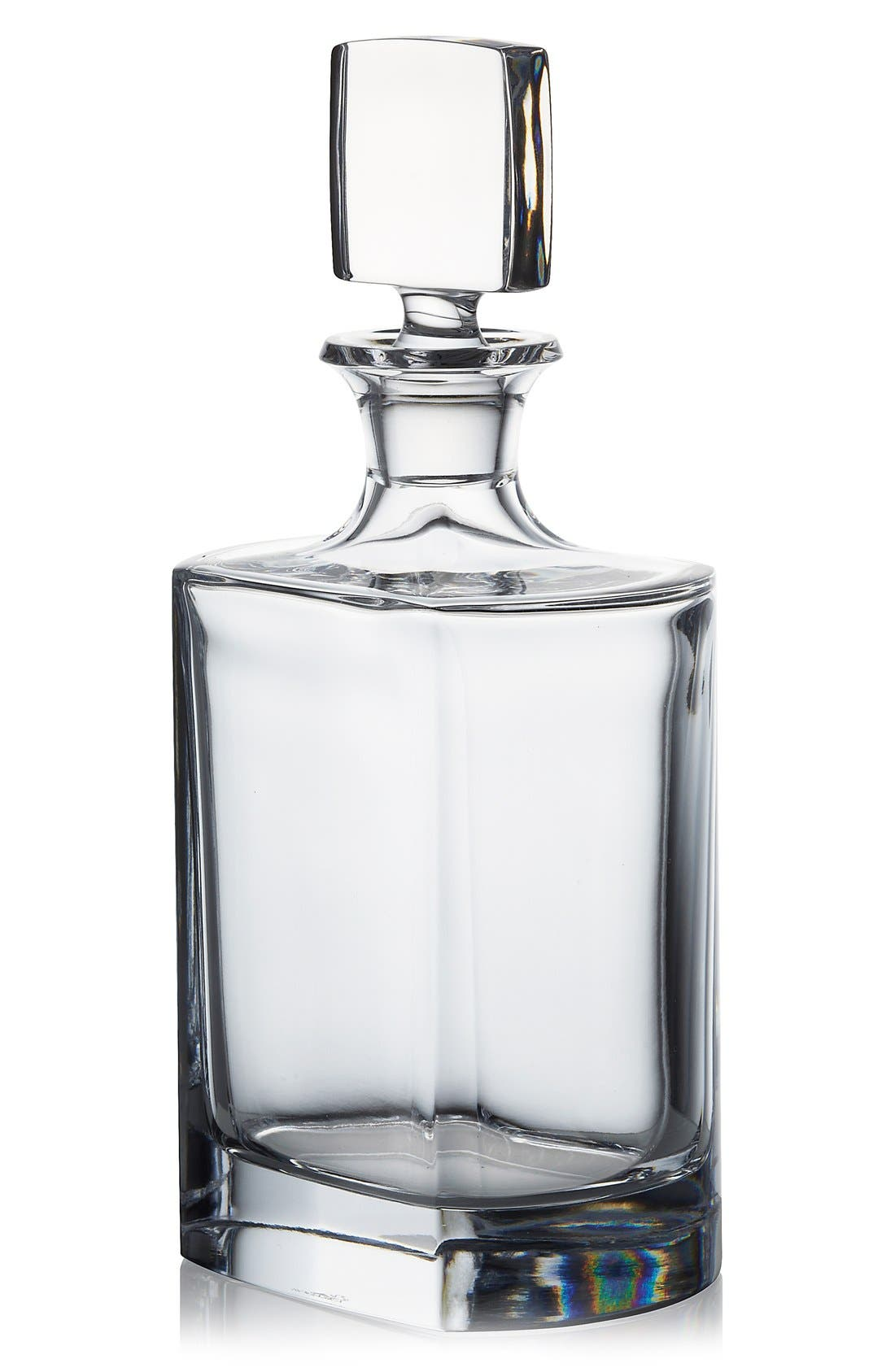 Main Image - Rogaska Crystal 'Manhattan' Whiskey Decanter