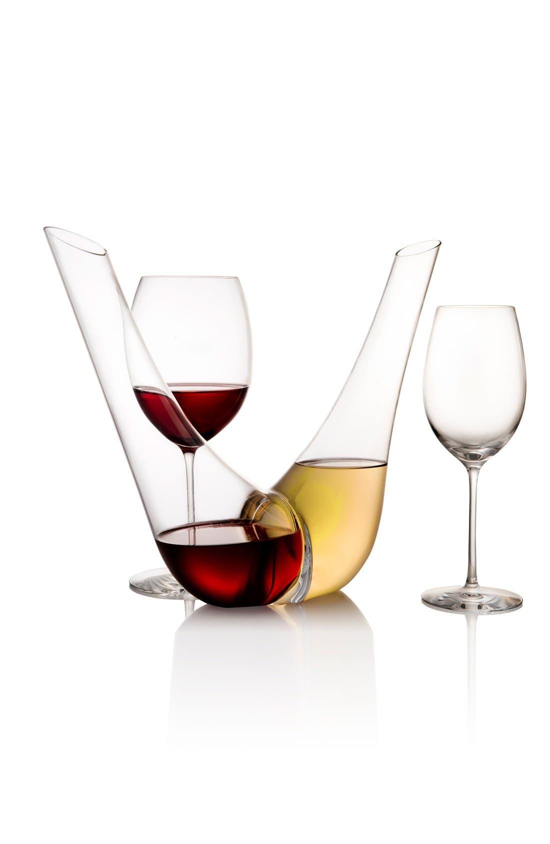 Expert Set of 2 Chardonnay Glasses,                             Alternate thumbnail 2, color,                             White