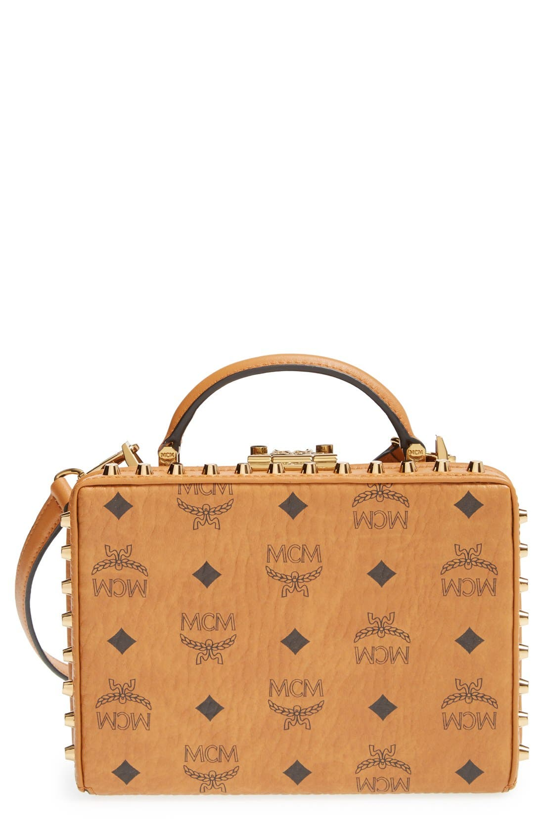 Alternate Image 1 Selected - MCM 'Visetos - Berlin Series' Box Crossbody Bag