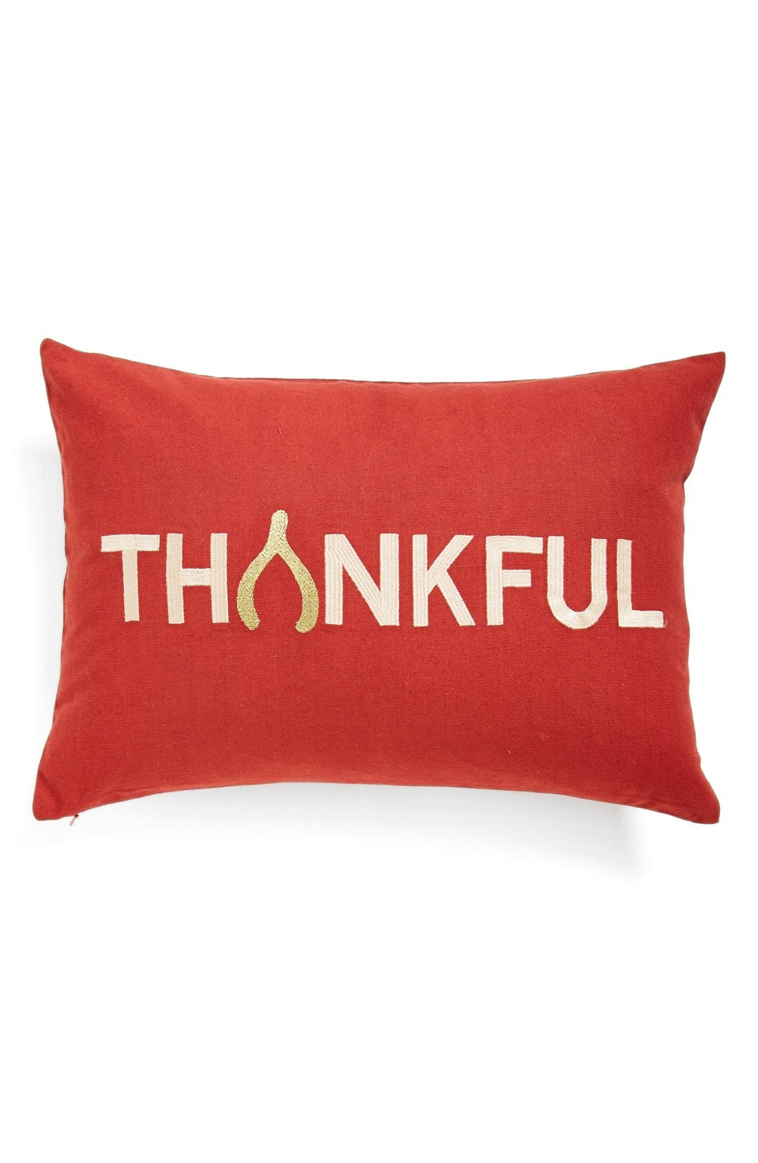 Alternate Image 1 Selected - Nordstrom at Home 'Thankful' Pillow
