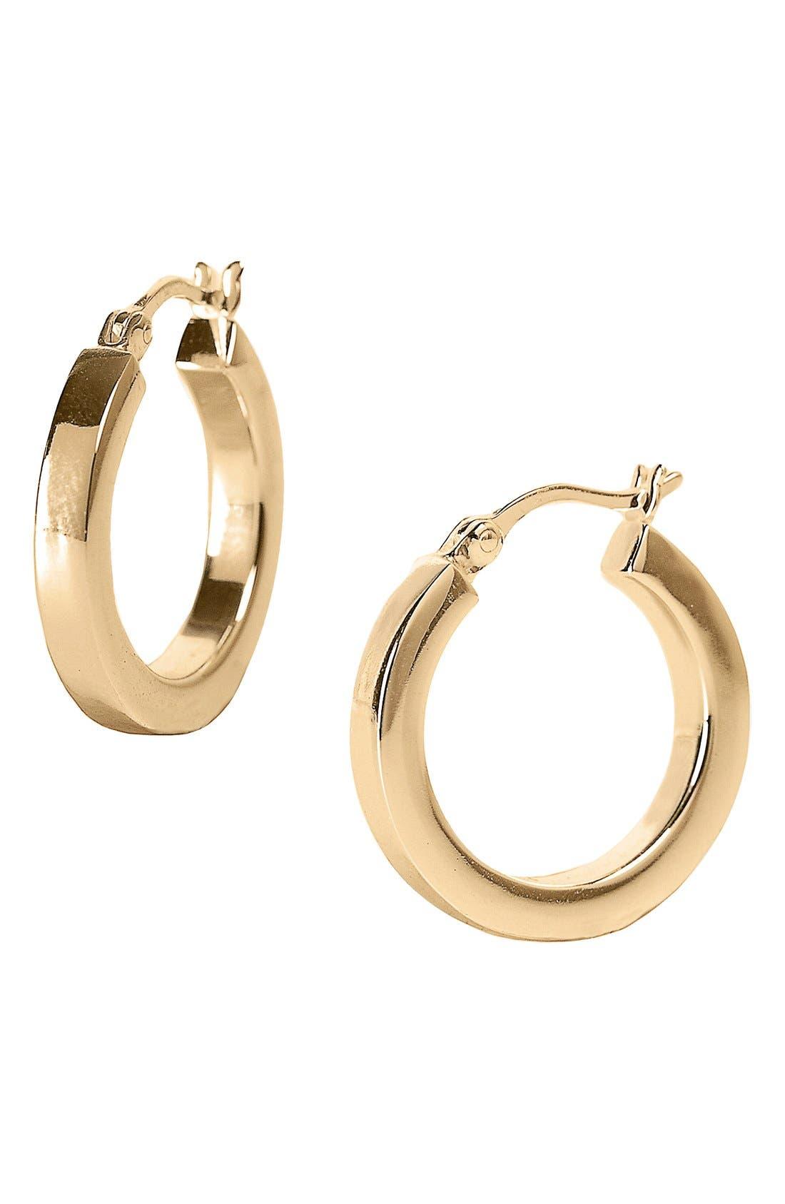 Alternate Image 1 Selected - Argento Vivo Small Hoop Earrings (Nordstrom Exclusive)