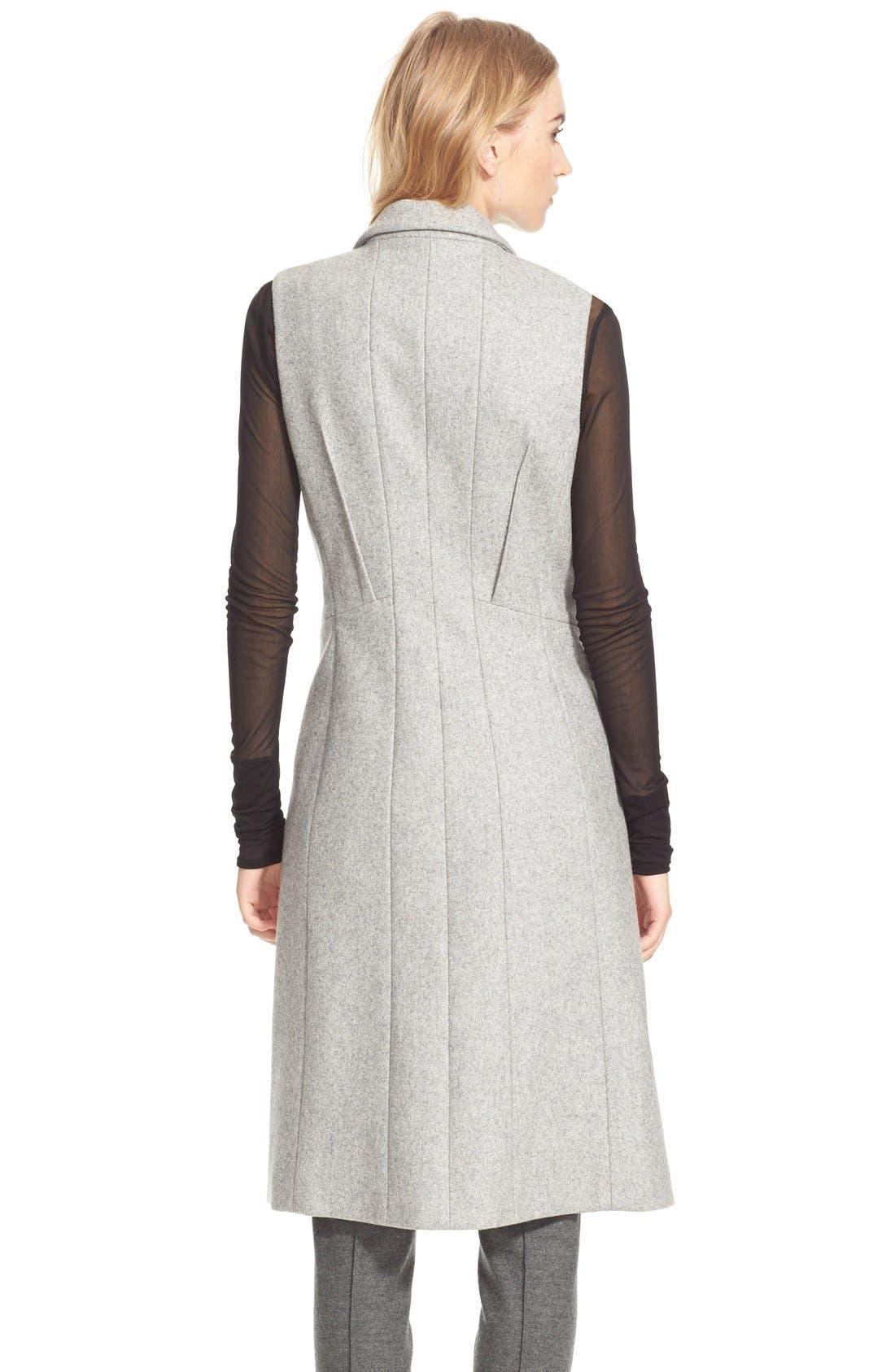 Alternate Image 2  - rag & bone 'Faye' Long Double Breasted Wool Blend Vest
