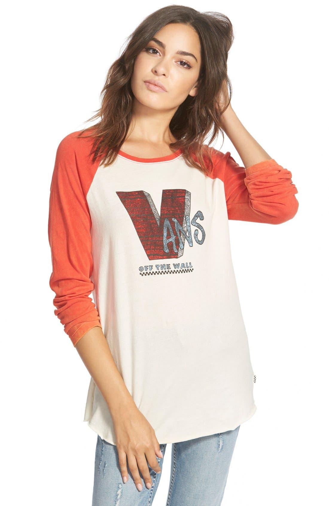 Main Image - Vans 'G V-Block' Baseball Tee