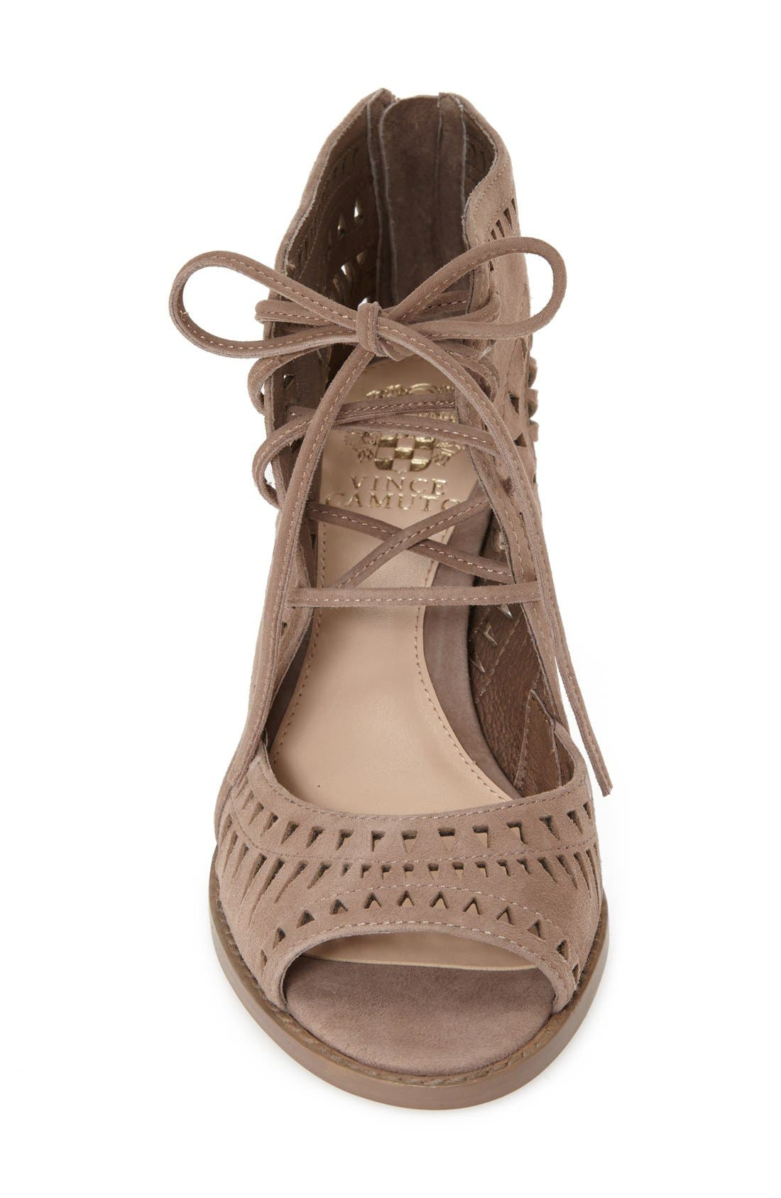 Alternate Image 3  - Vince Camuto 'Tarita' Cutout Lace-Up Sandal (Women) (Nordstrom Exclusive)