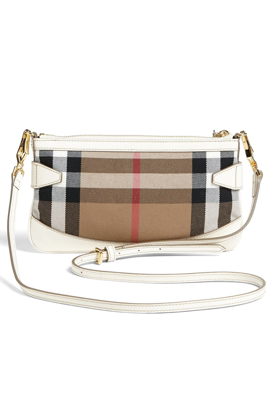 Alternate Image 3  - Burberry 'House Check' Crossbody Clutch