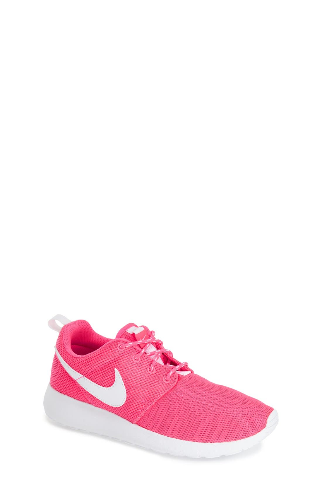 Main Image - Nike 'Roshe Run' Athletic Shoe (Little Kid & Big Kid)