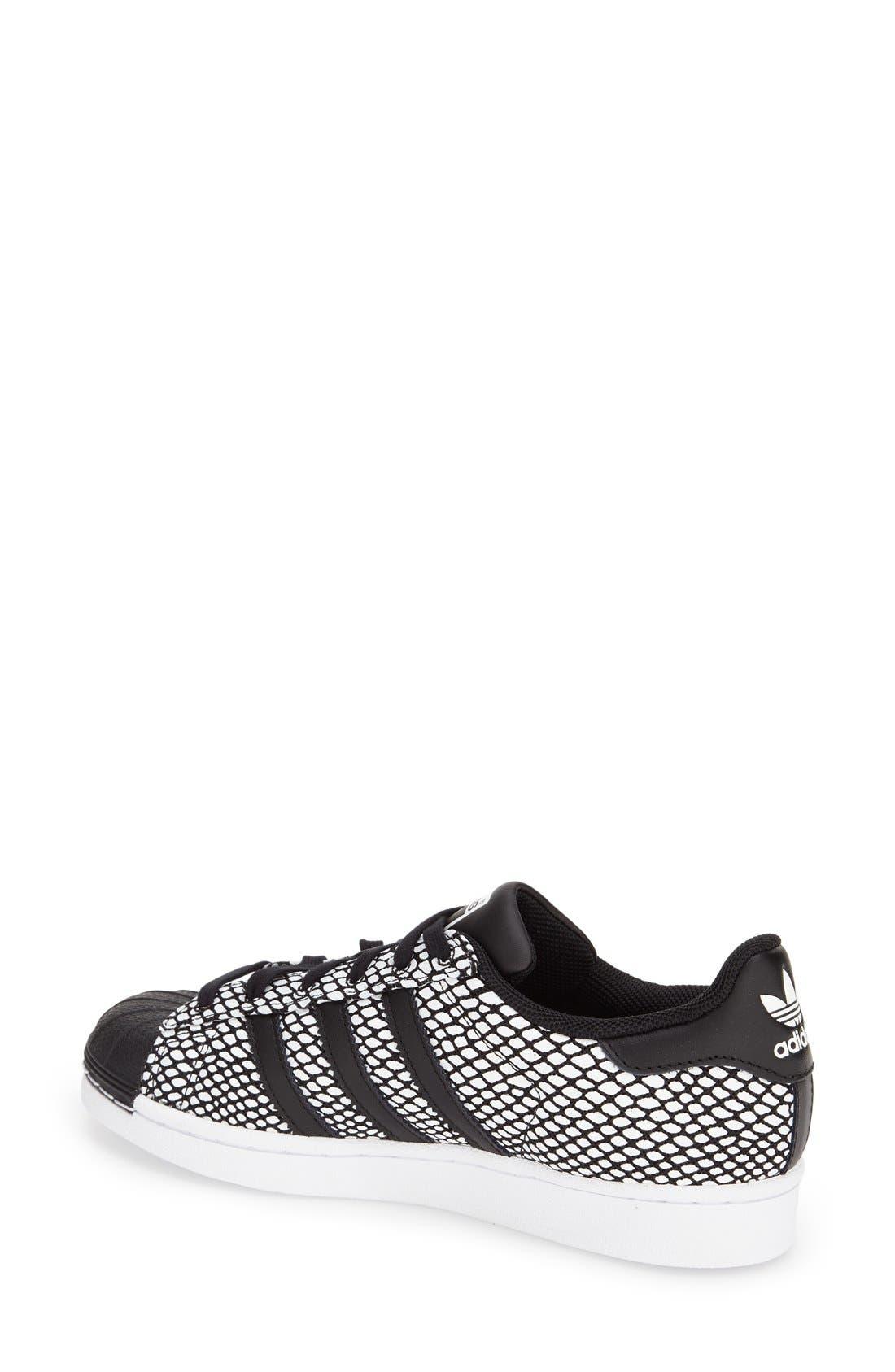 Alternate Image 2  - adidas 'Superstar' Snake Embossed Sneaker (Women)