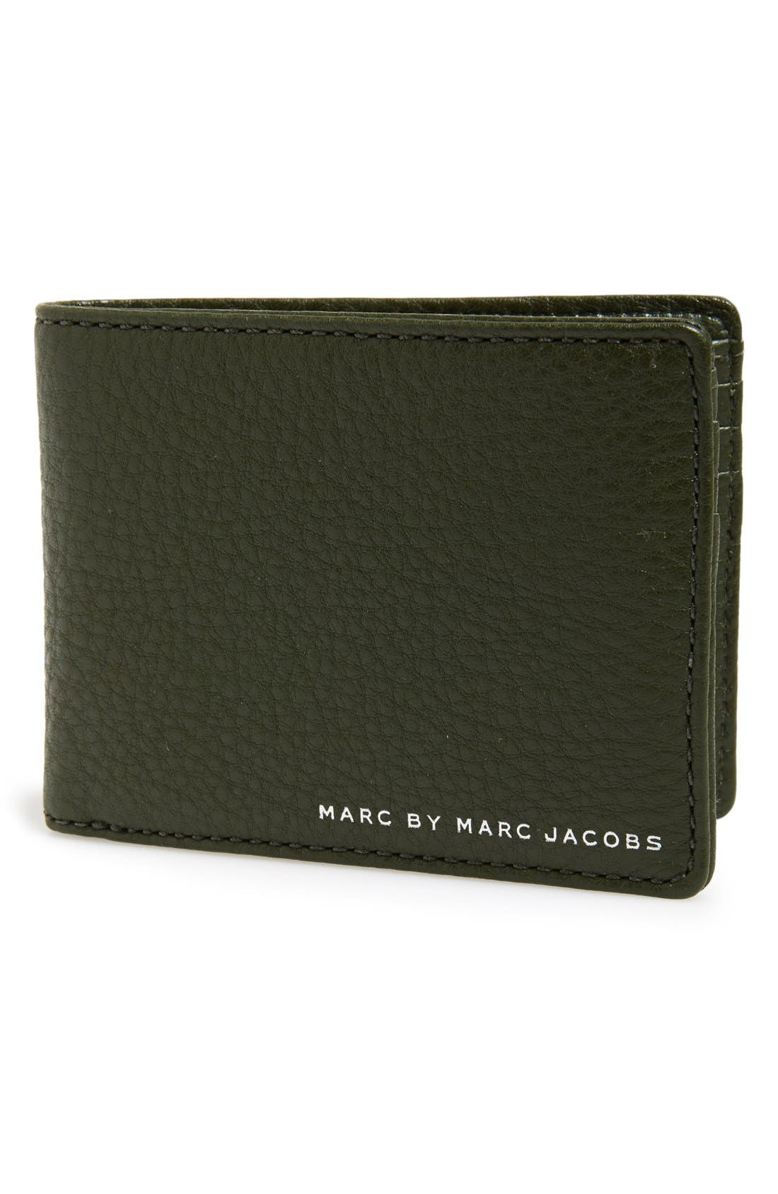 Alternate Image 1 Selected - MARC BY MARC JACOBS Leather Billfold Wallet