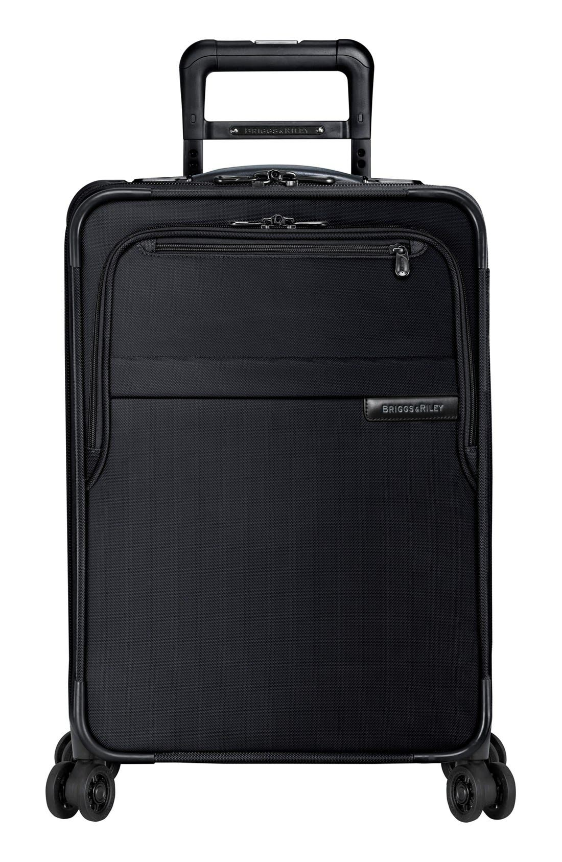Alternate Image 5  - Briggs & Riley Baseline Domestic 22-Inch Expandable Rolling Carry-On