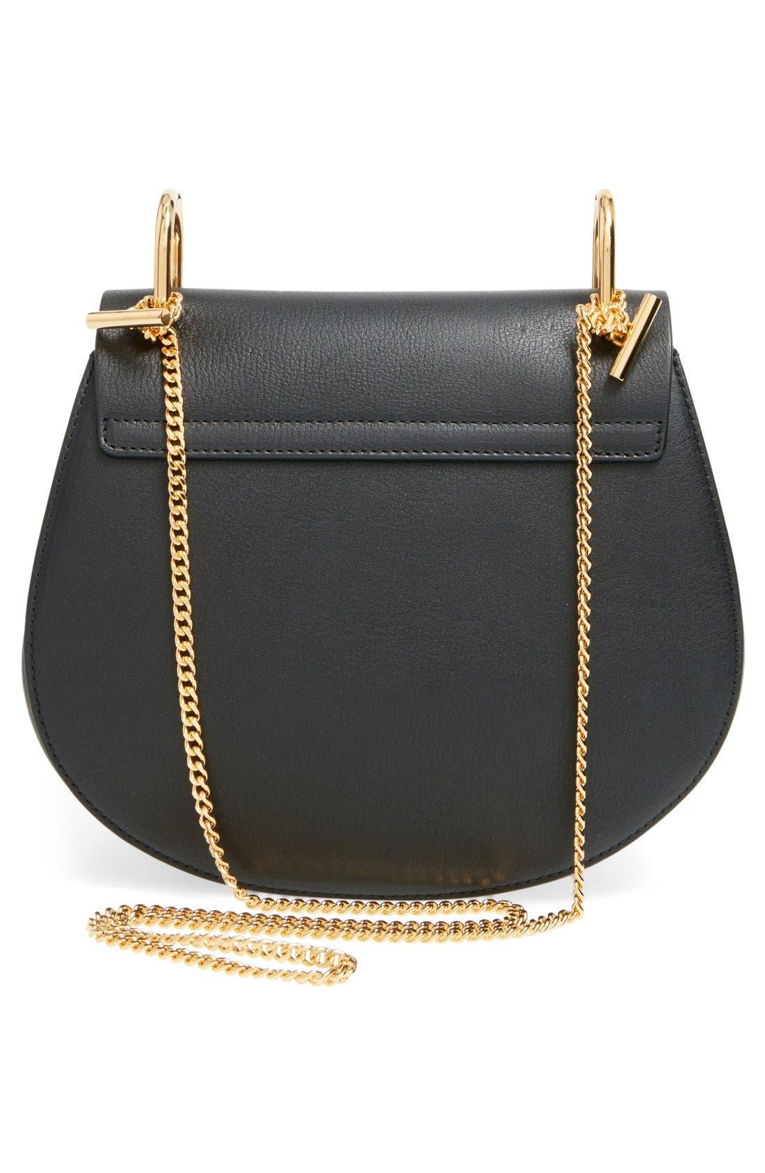 Alternate Image 3  - Chloé'Small Drew' Genuine Python & Calfskin Leather Crossbody Bag