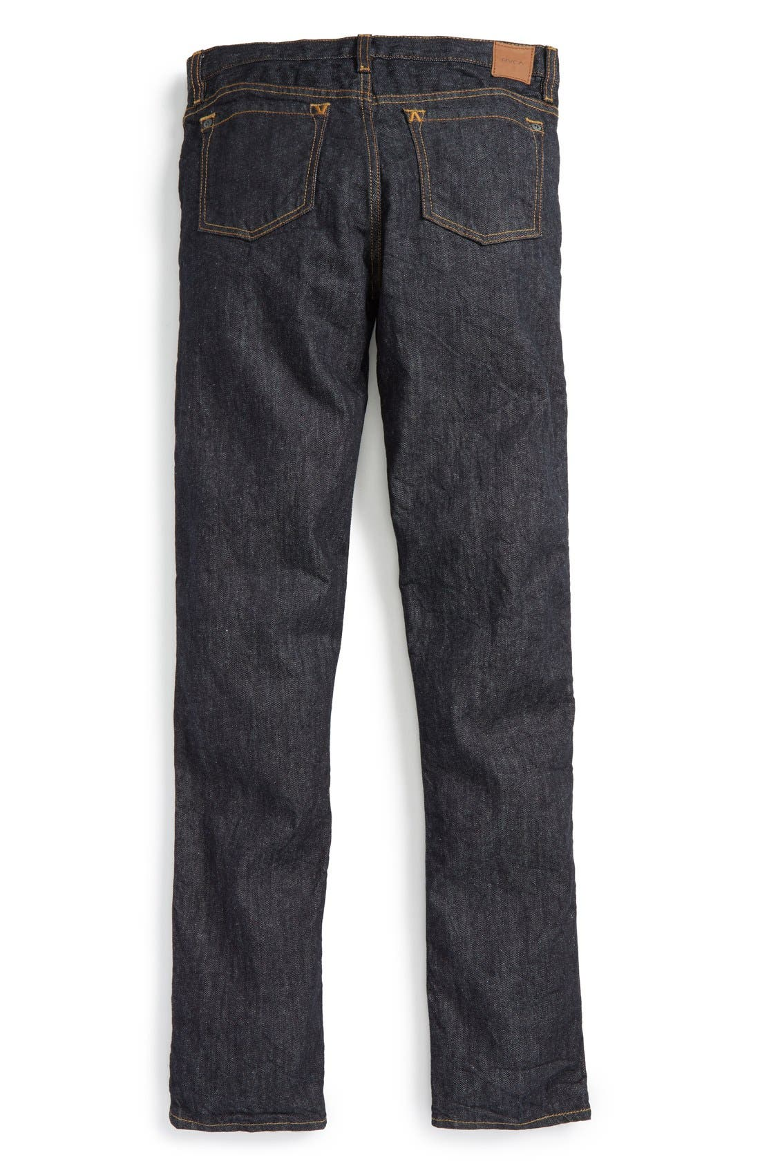 'Daggers' Slim Fit Jeans,                             Alternate thumbnail 2, color,                             Deep Indigo