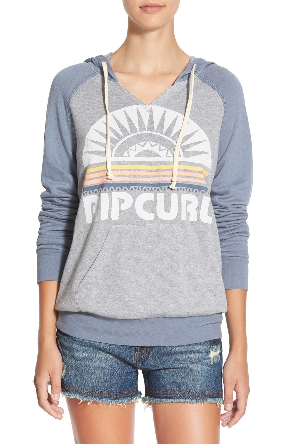 Main Image - Rip Curl 'Sunray' Pullover Hoodie