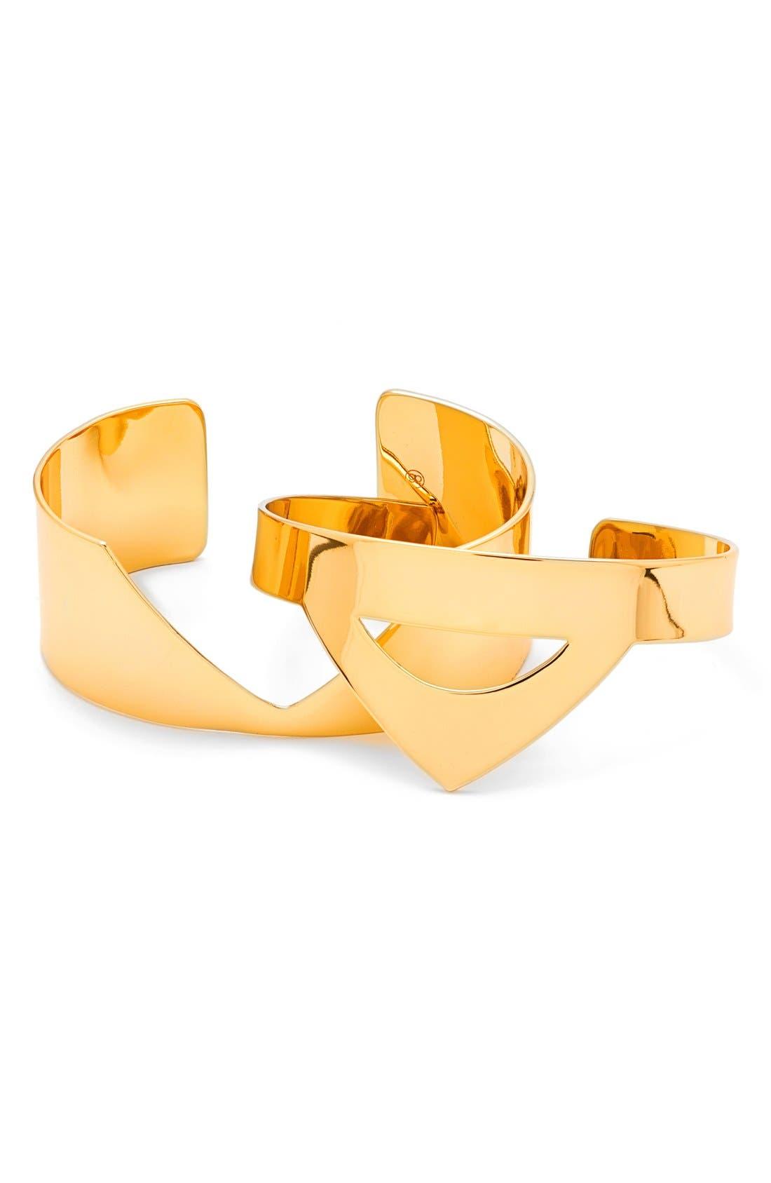 Alternate Image 3  - gorjana'Carter' Cuffs (Set of 2)