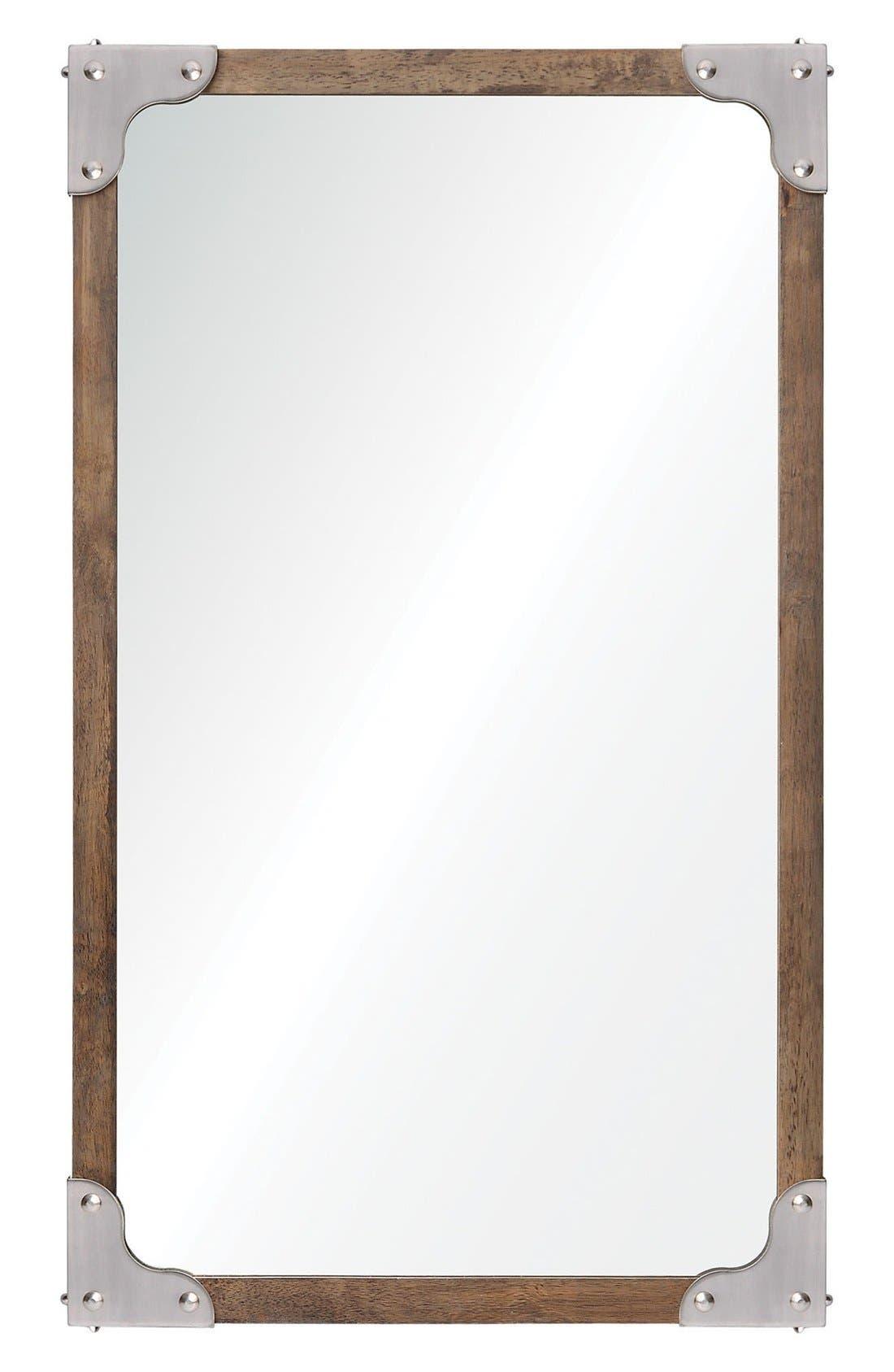 'Advocate' Mirror,                         Main,                         color, Brown