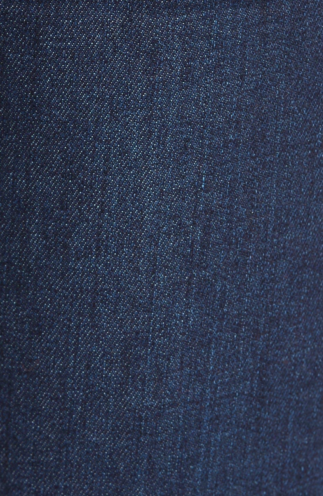 Alternate Image 4  - STSBlue 'Nikki' Flare Leg Skinny Jeans (Napa)
