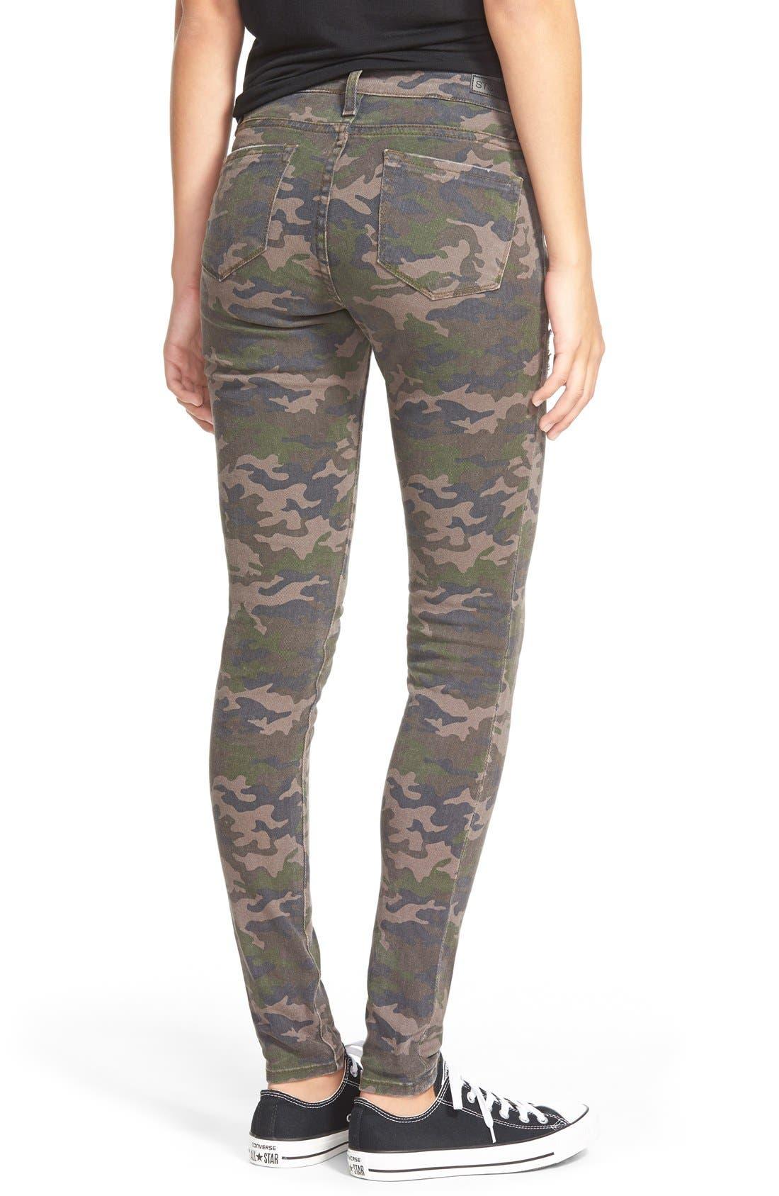 Alternate Image 2  - STS Blue Camo 'Megan' Skinny Jeans