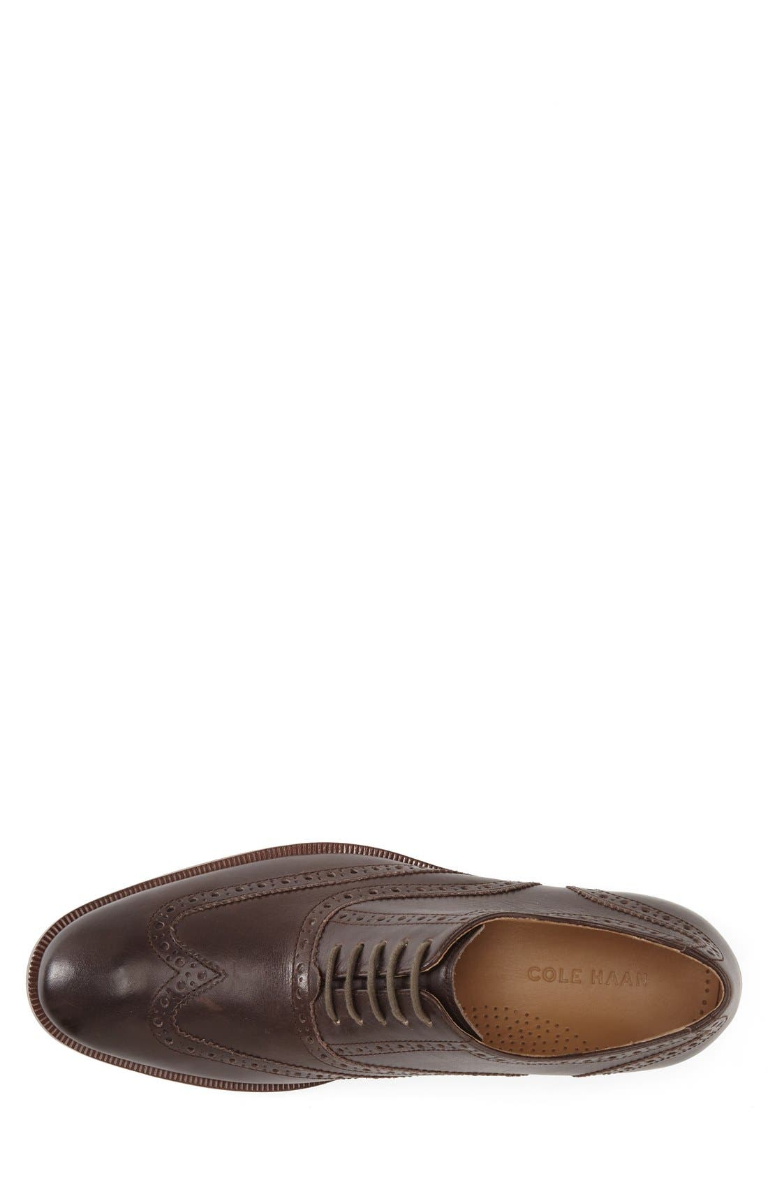 'Colton' Wingtip Oxford,                             Alternate thumbnail 3, color,                             Chestnut