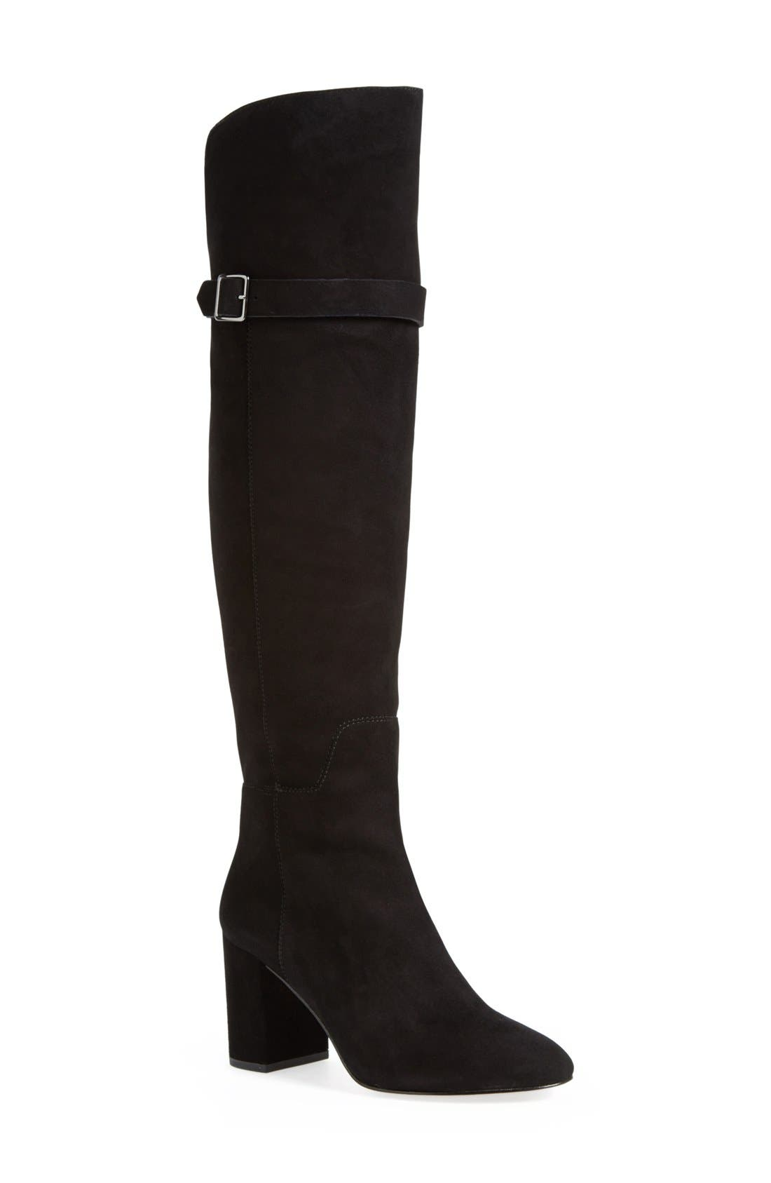 Alternate Image 1 Selected - Pour la Victoire 'Dania' Over the Knee Boot (Women)