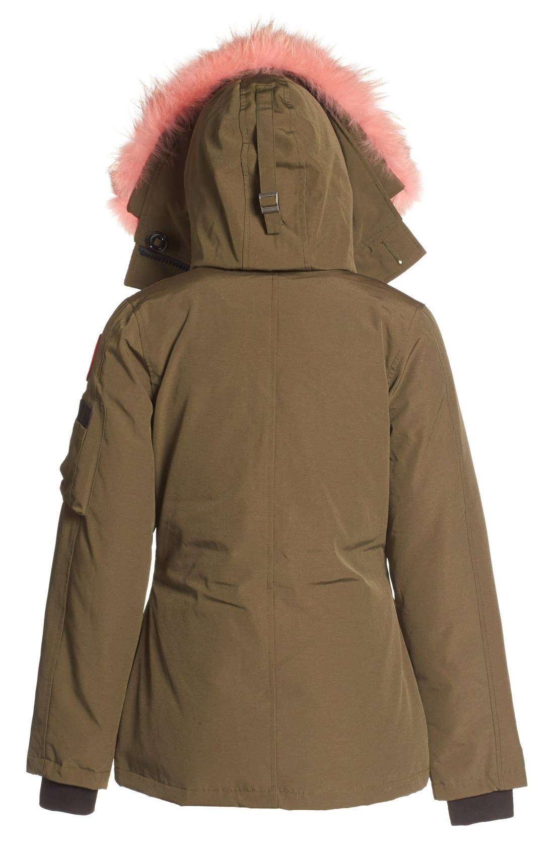 Alternate Image 2  - Canada Goose 'Montebello' Down Parka with Interchangeable Genuine Coyote Fur Trim (Women)