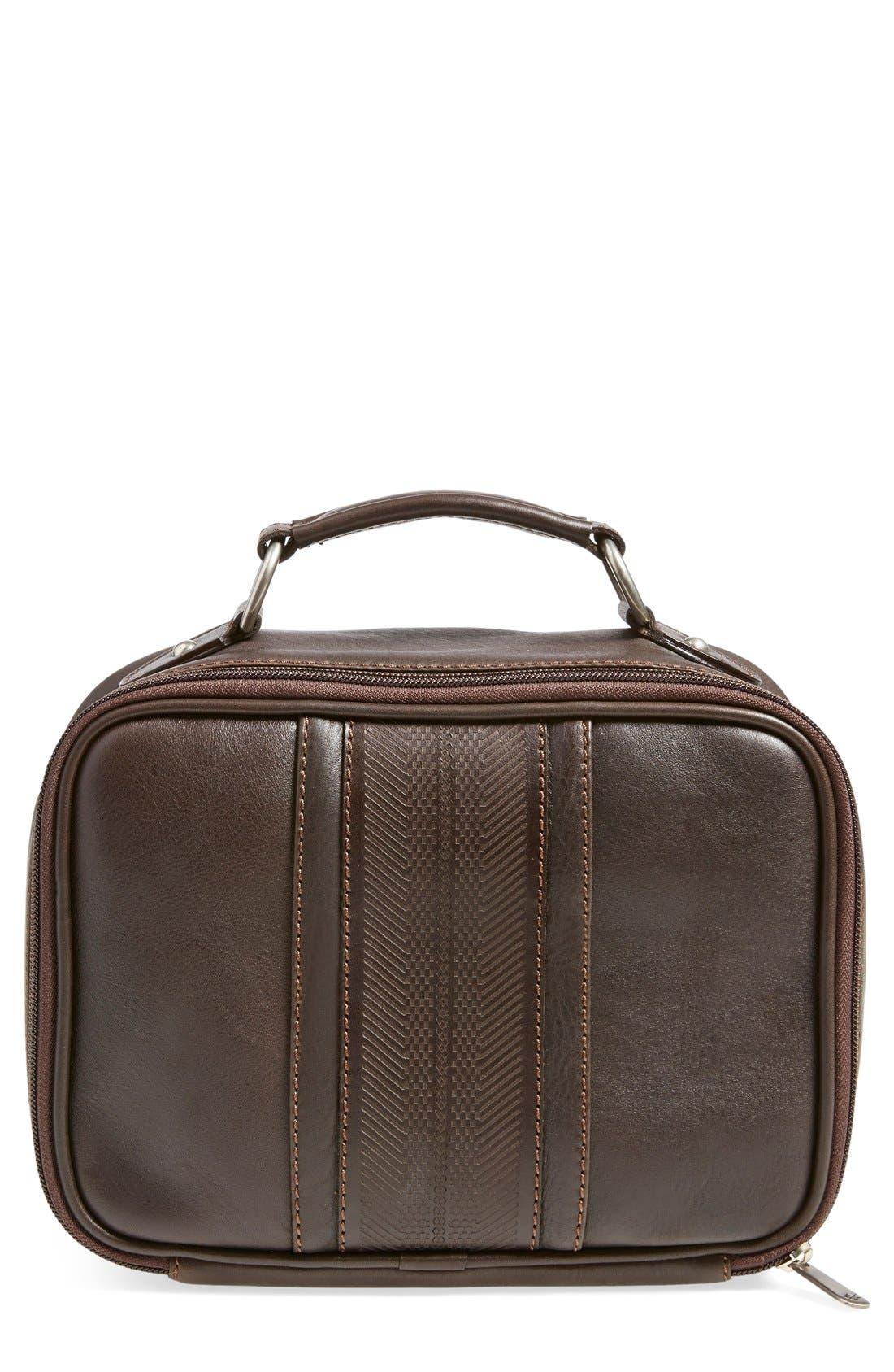 MartinDingman'Rudyard' Leather Travel Kit
