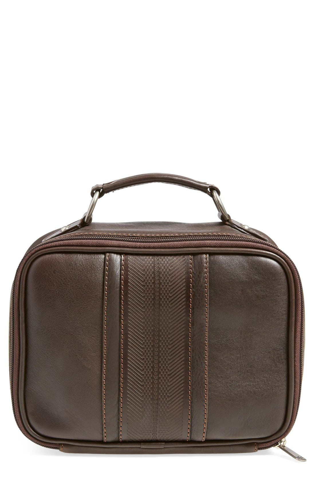 Martin Dingman 'Rudyard' Leather Travel Kit