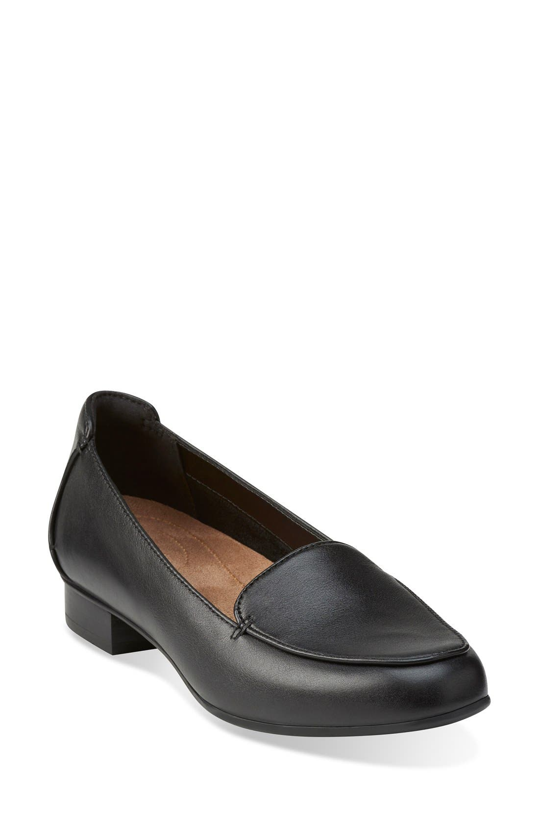 Clarks® 'Keesha Luca' Loafer (Women)