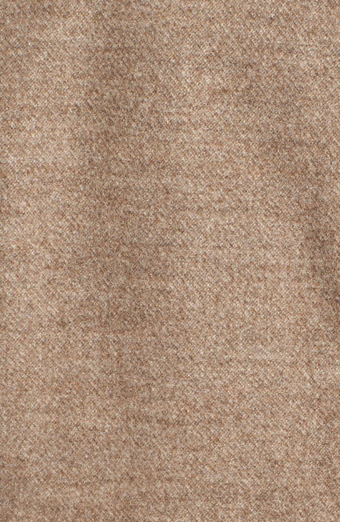 Alternate Image 5  - Vince Leather Trim Drape Neck Jacket
