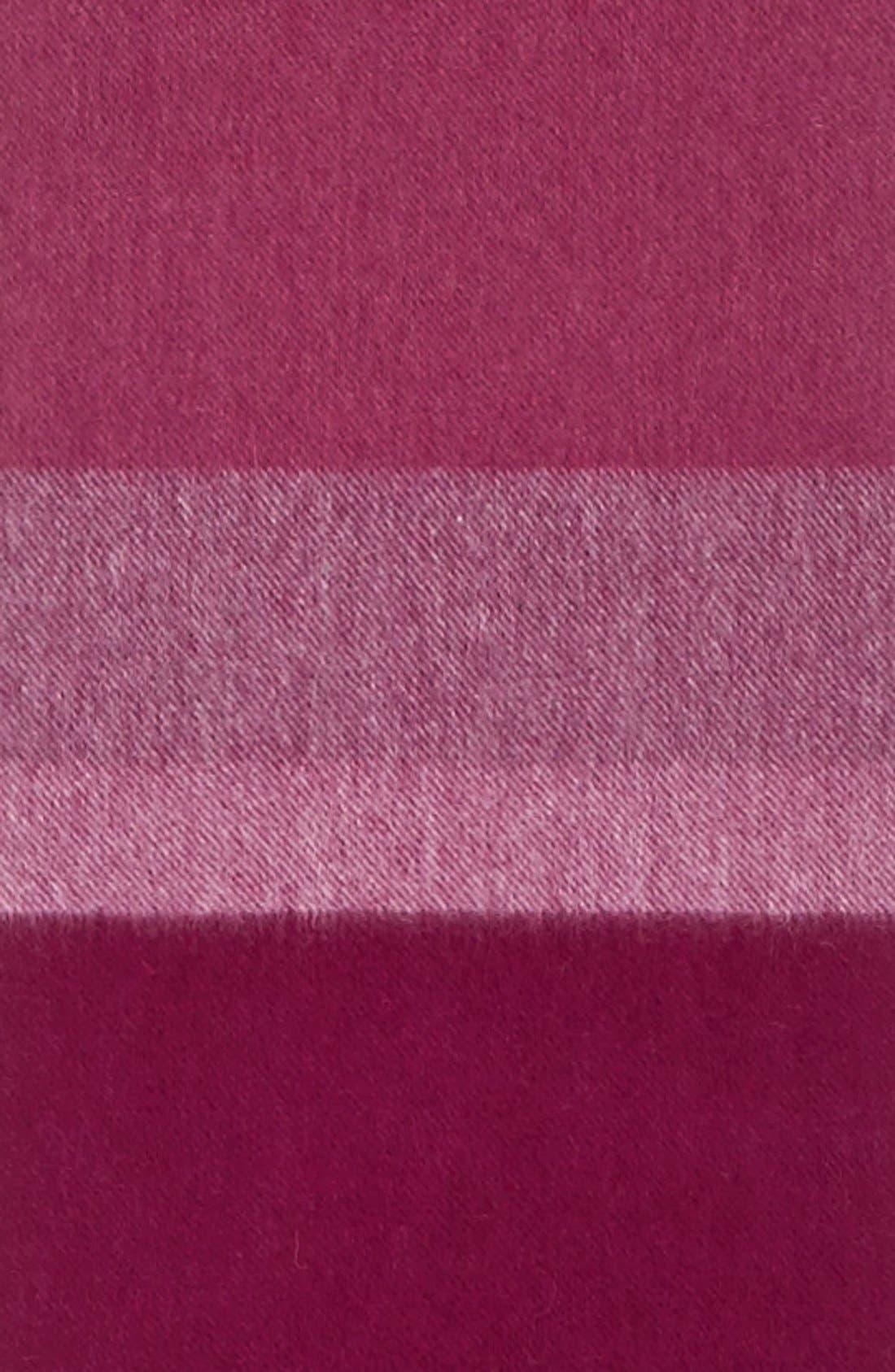 Alternate Image 3  - Nordstrom Stripe Cashmere Scarf