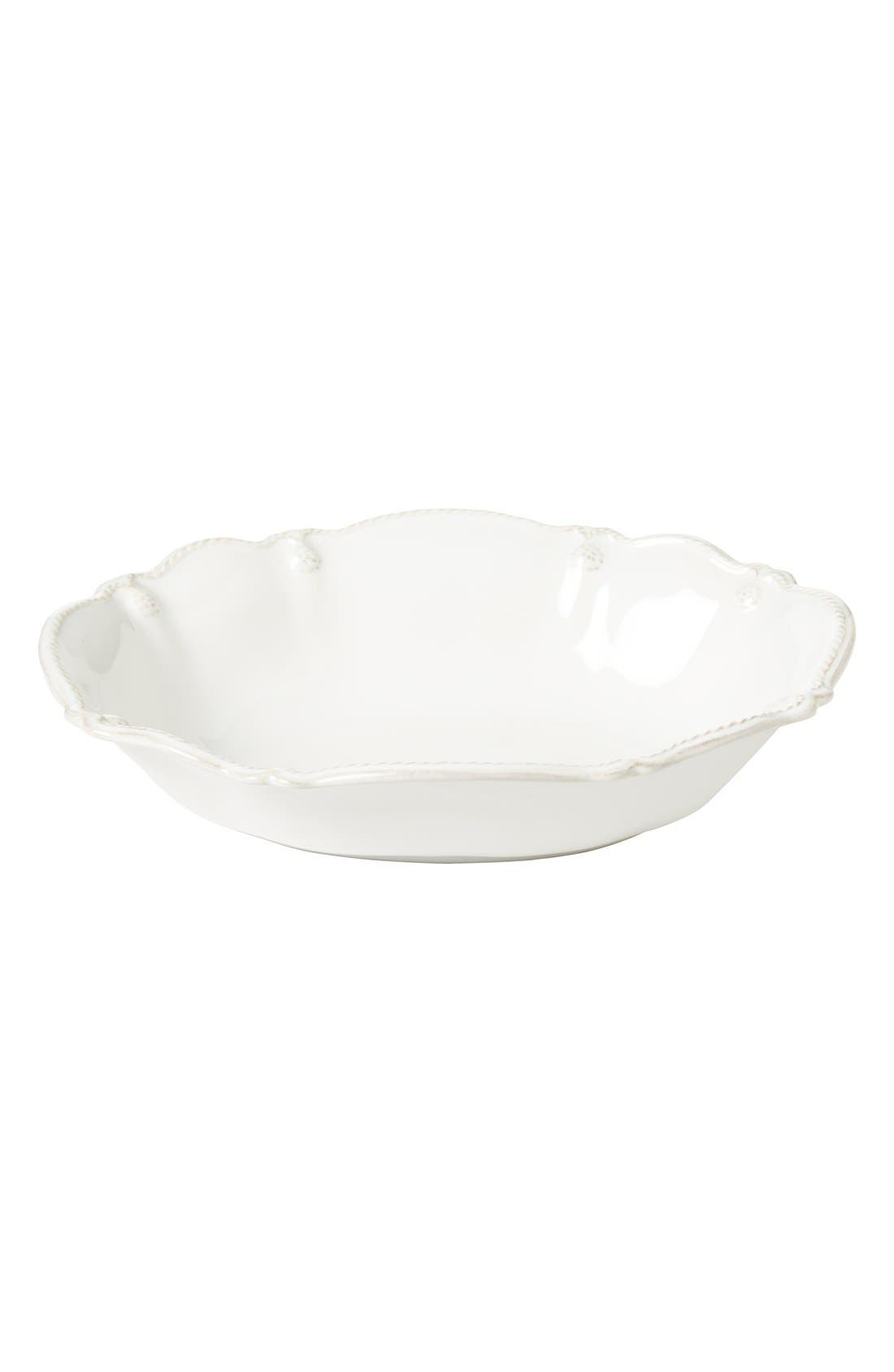 'Berry and Thread' Oval Serving Bowl,                             Alternate thumbnail 2, color,                             Whitewash