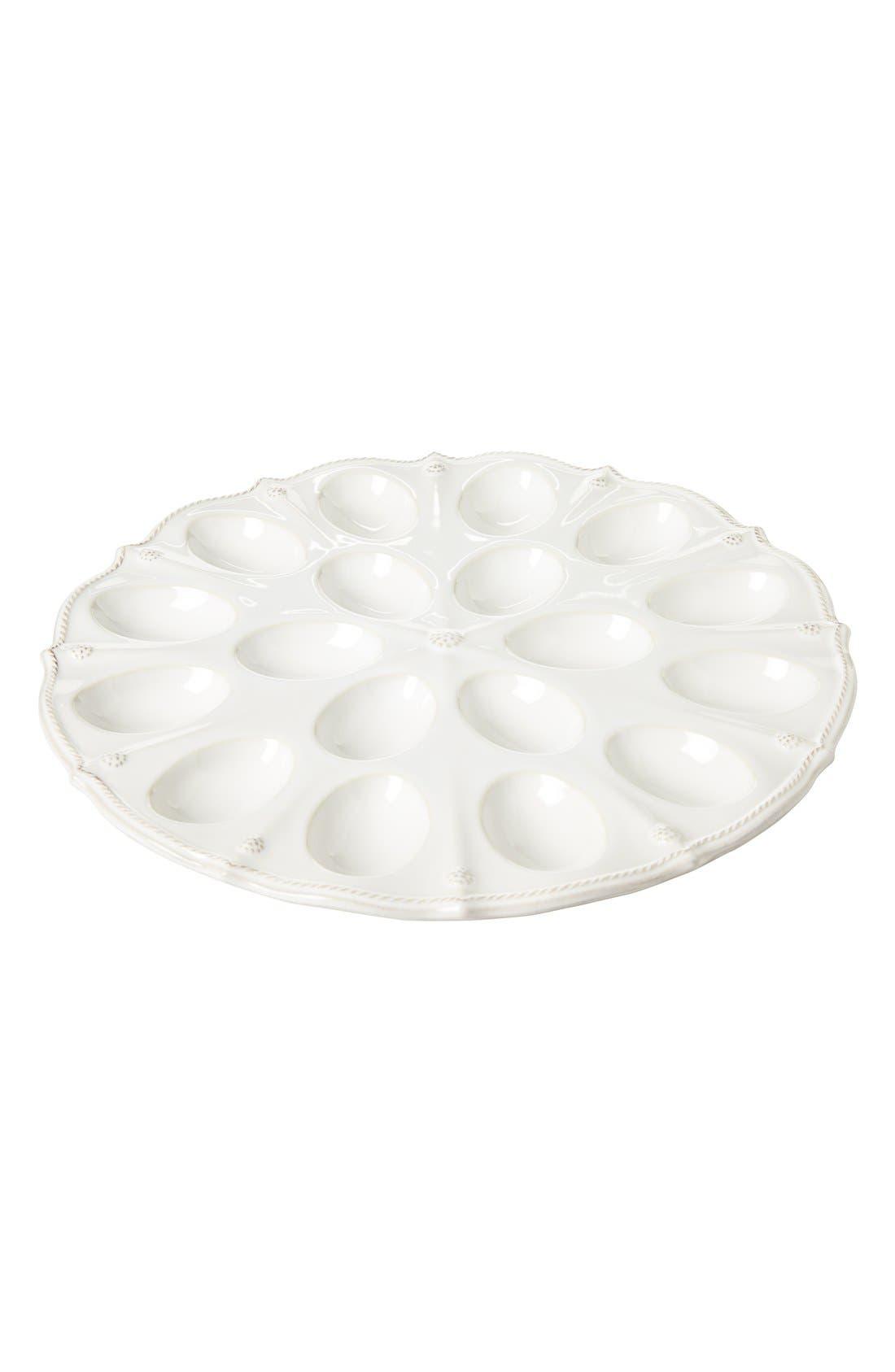 Main Image - Juliska 'Berry and Thread' Egg Platter