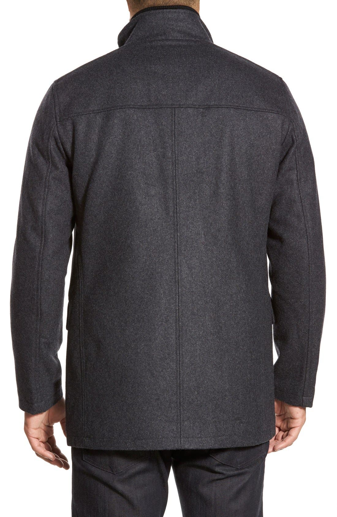 Alternate Image 2  - Cole Haan Wool Blend Jacket