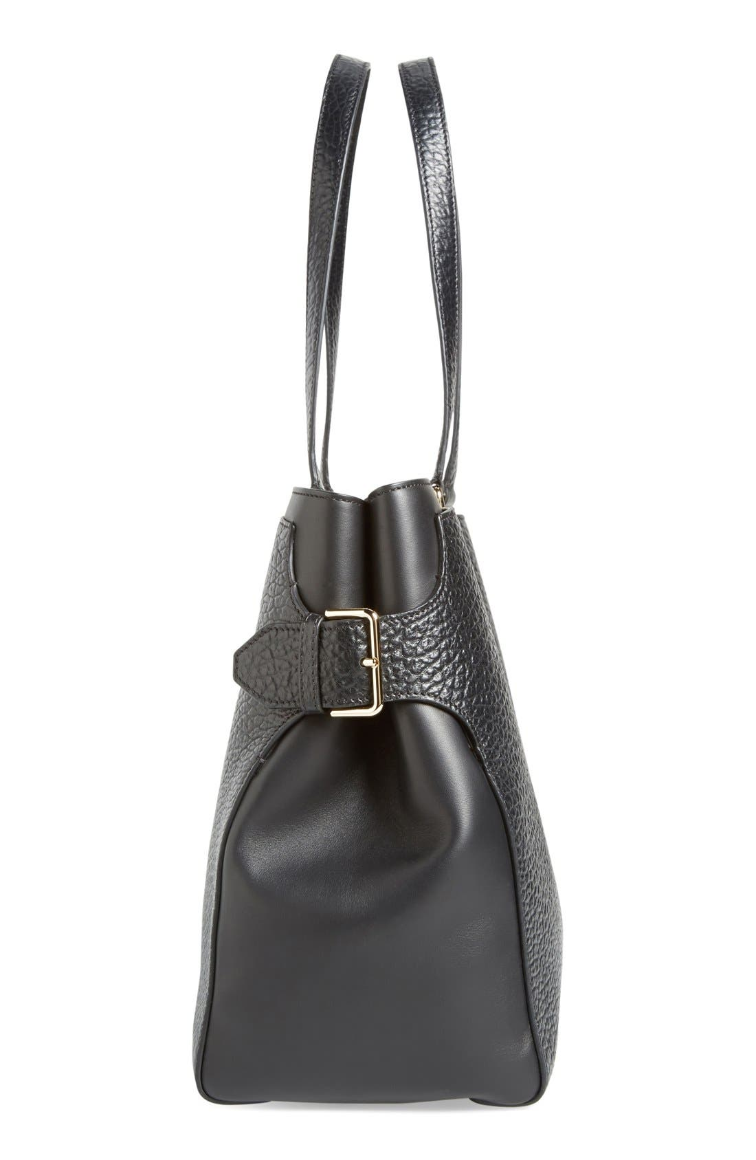 Alternate Image 4  - Burberry 'Large Clarbrgh - Signature Grain' Tote