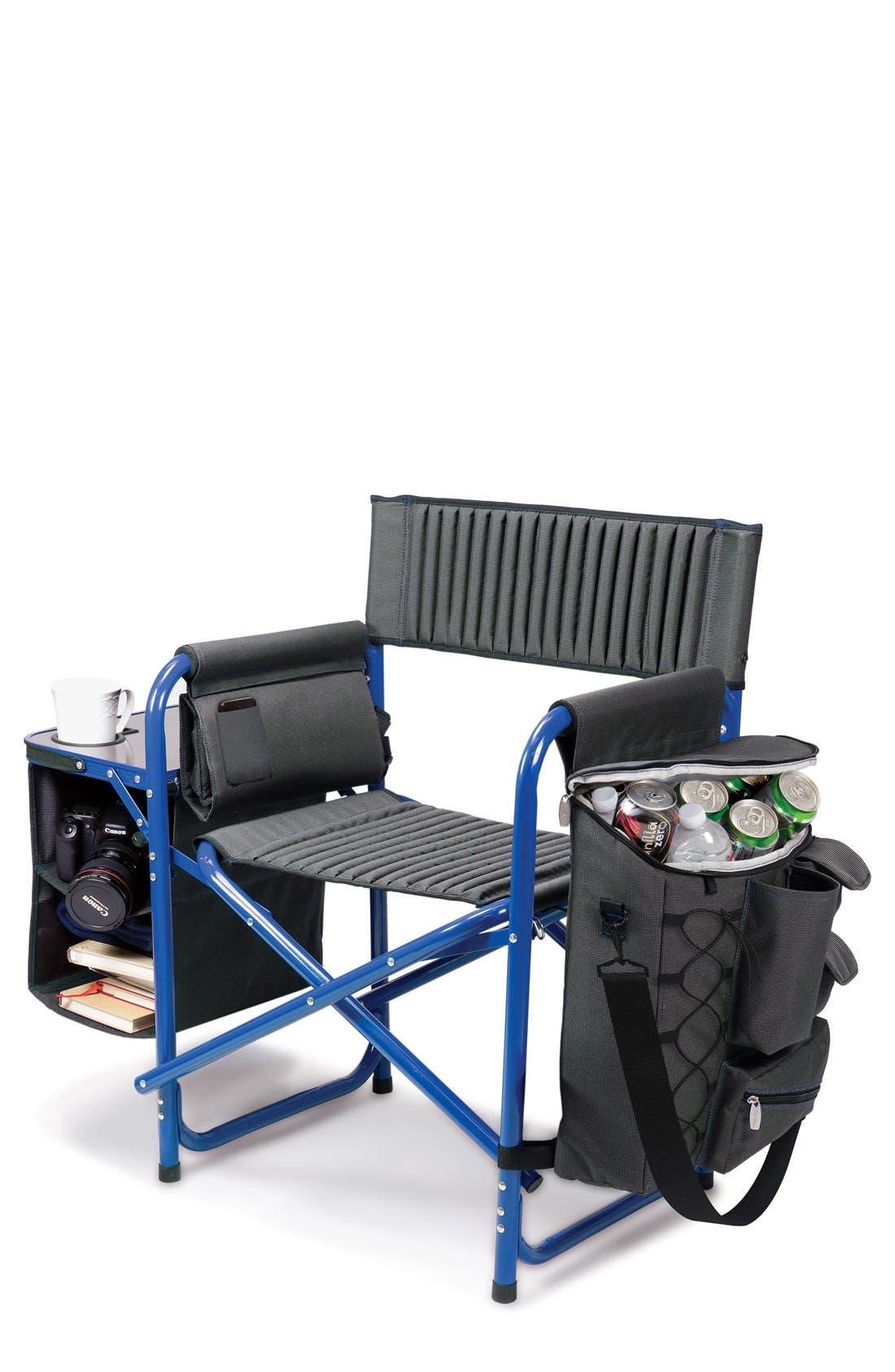 'Fusion' Lawn Chair,                             Main thumbnail 1, color,                             Blue