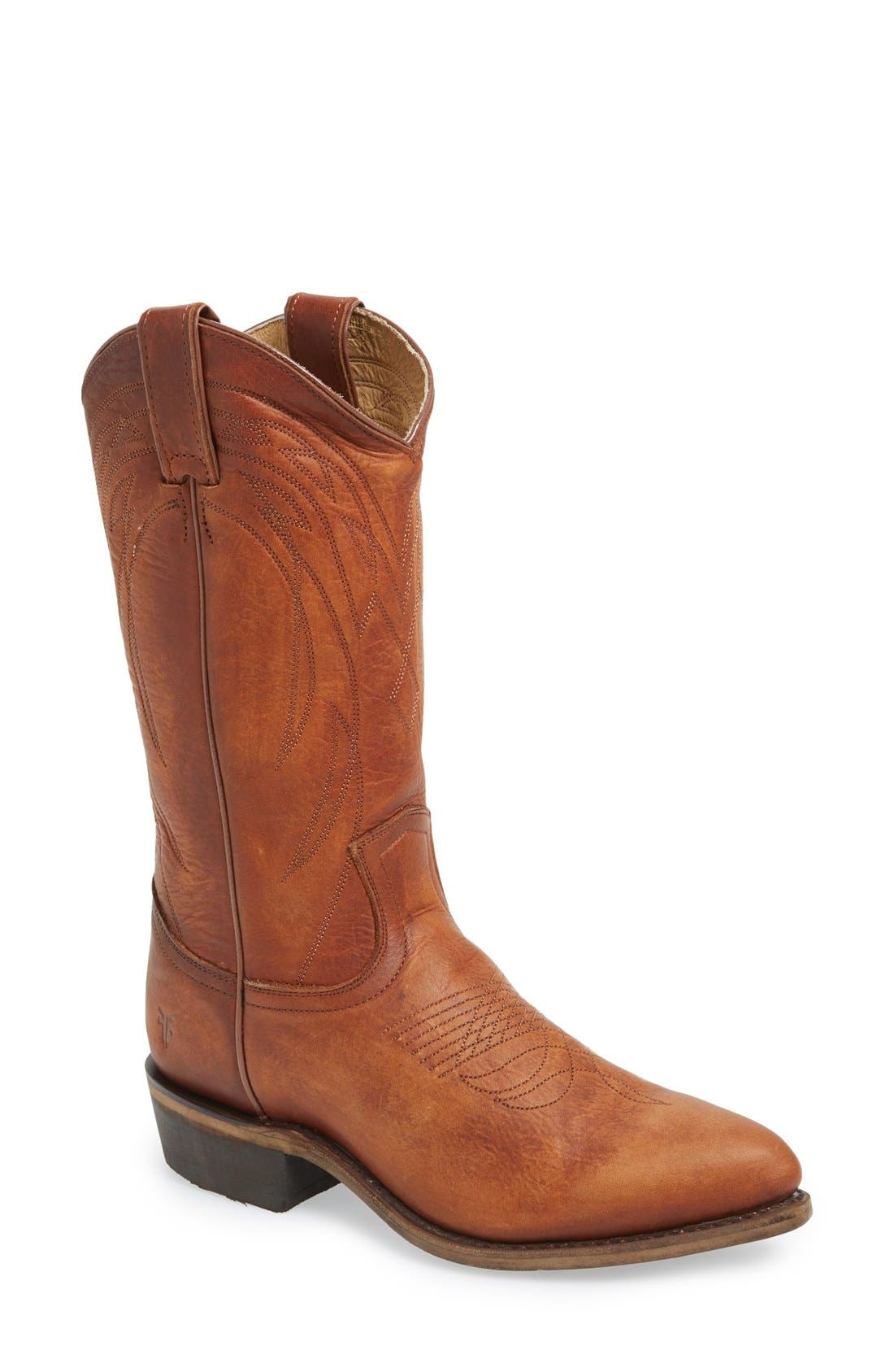 Alternate Image 1 Selected - Frye 'Billy' Western Boot (Women)