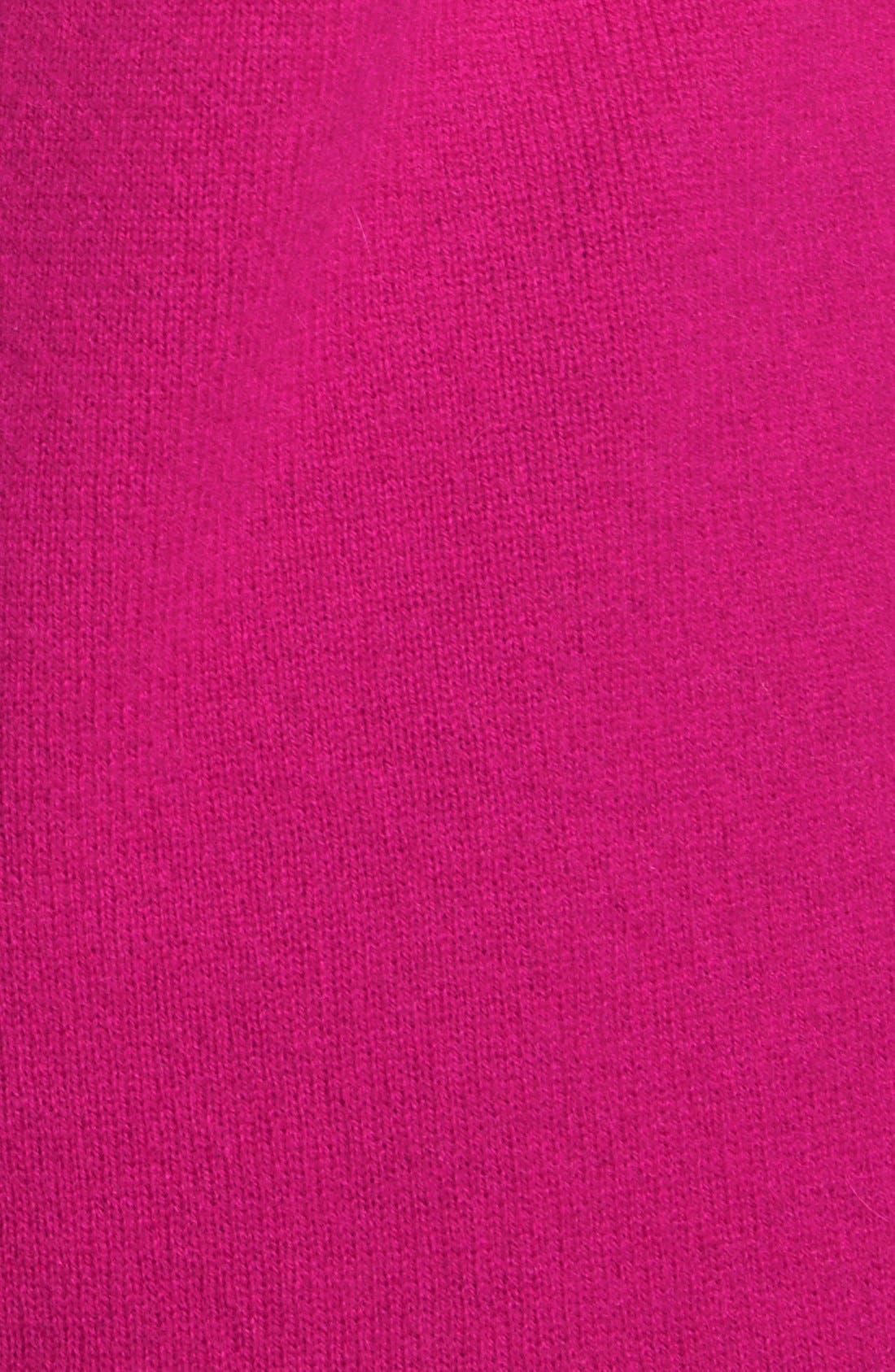Alternate Image 2  - Halogen® Shirttail Wool & Cashmere Boatneck Tunic (Regular & Petite)