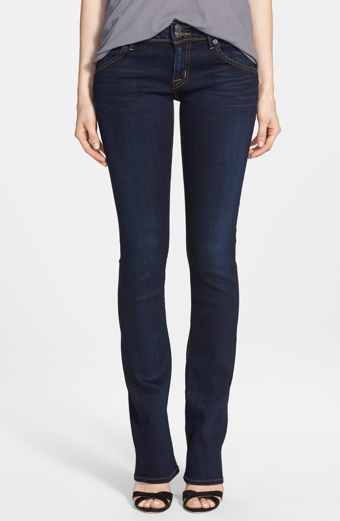 Hudson Jeans 'Beth' Baby Bootcut Jeans (Oracle) (Petite)