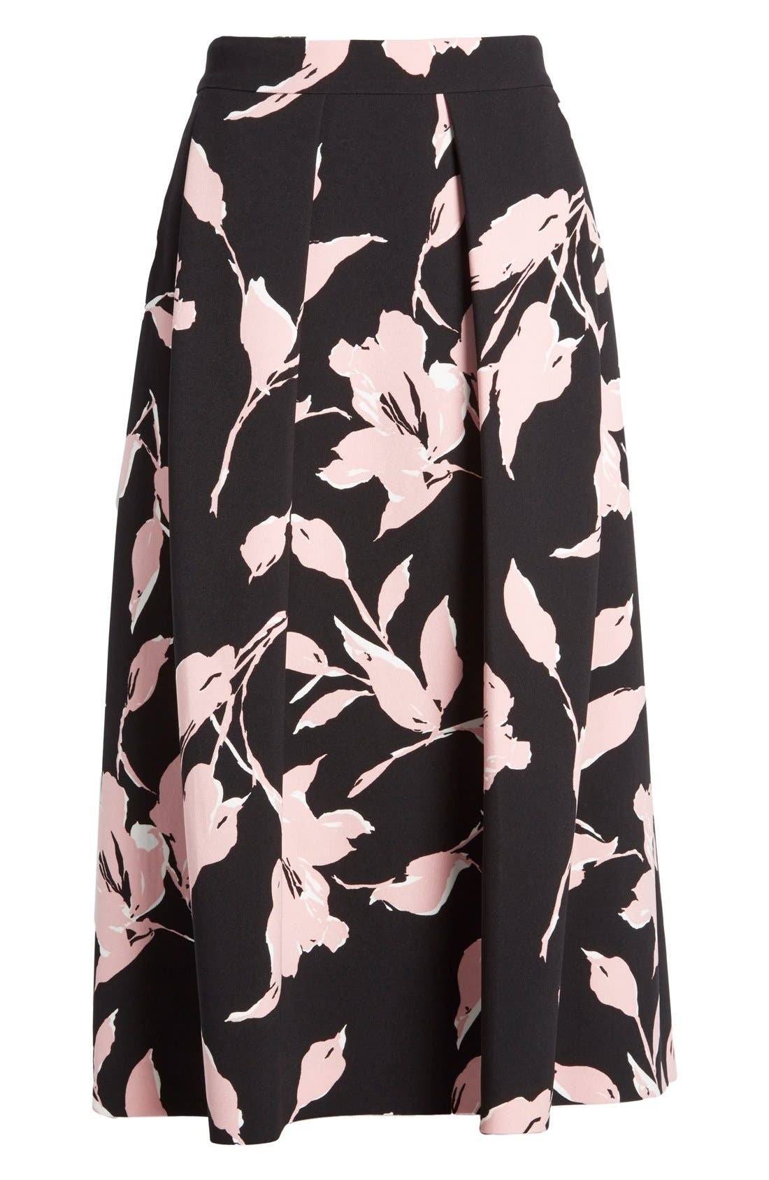 Alternate Image 4  - ESCADA French Rose Print Skirt