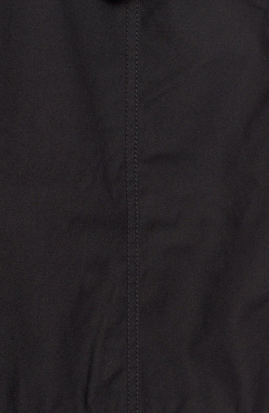 'M-59' Hooded Fishtail Parka,                             Alternate thumbnail 6, color,                             Black