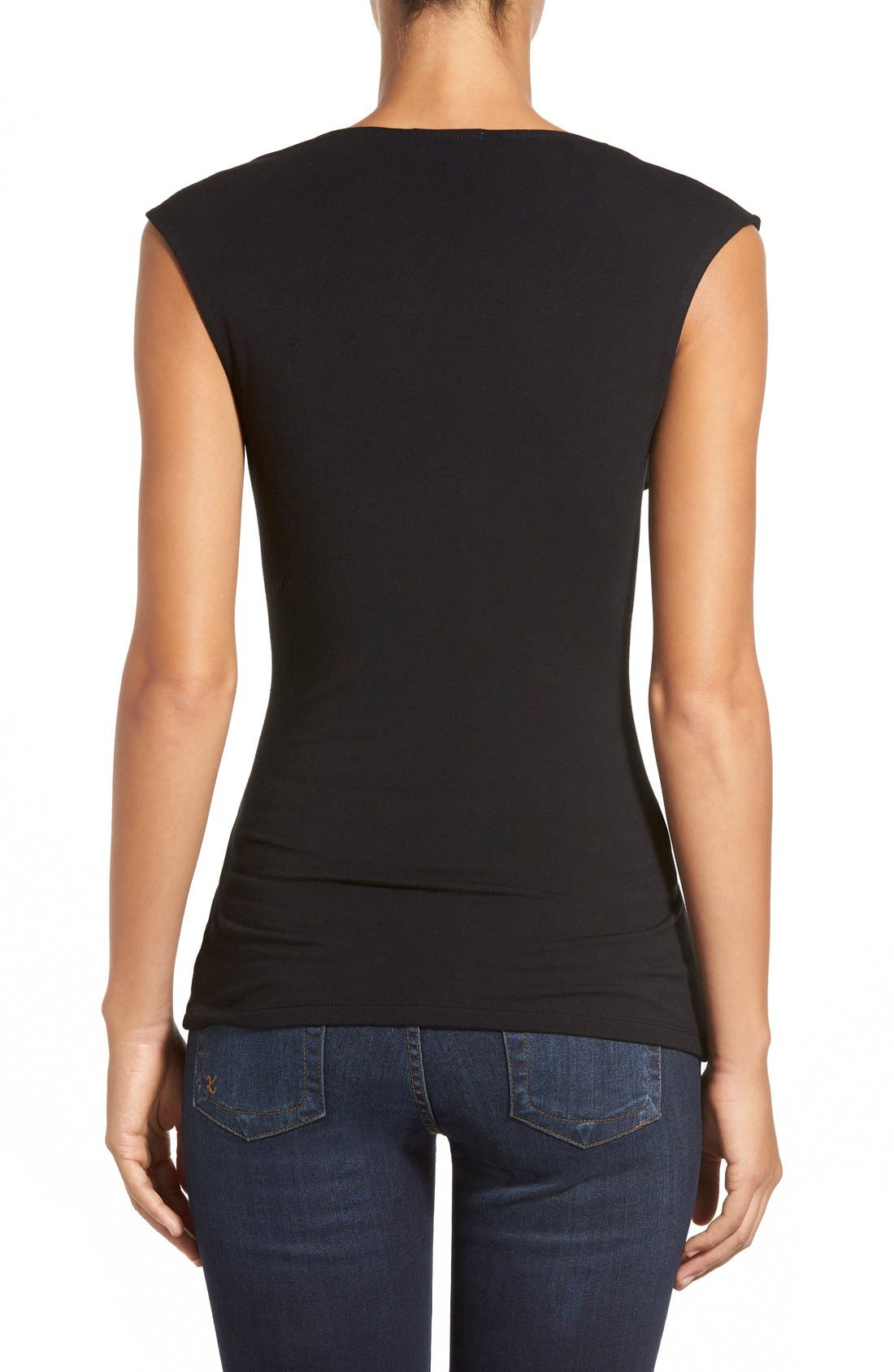 Alternate Image 2  - Halogen® Cowl Neck Sleeveless Top (Regular & Petite)
