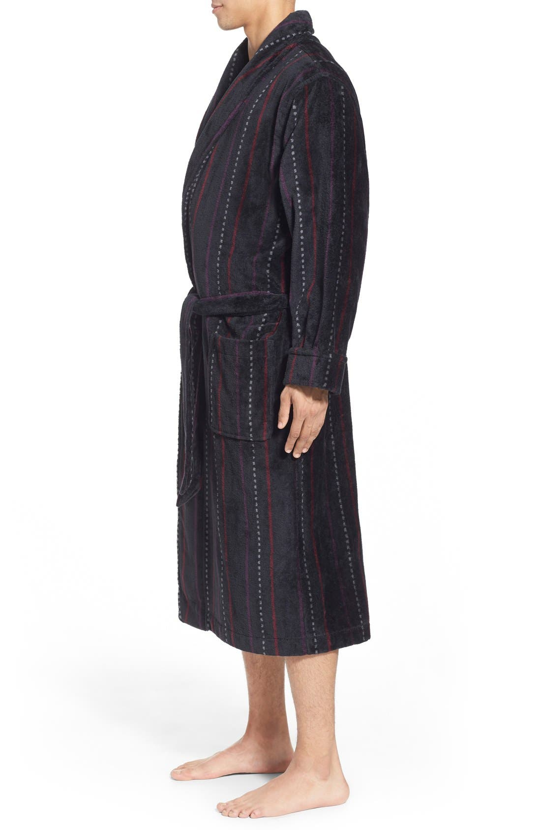 Alternate Image 3  - Nordstrom Men's Shop Terry Shawl Robe