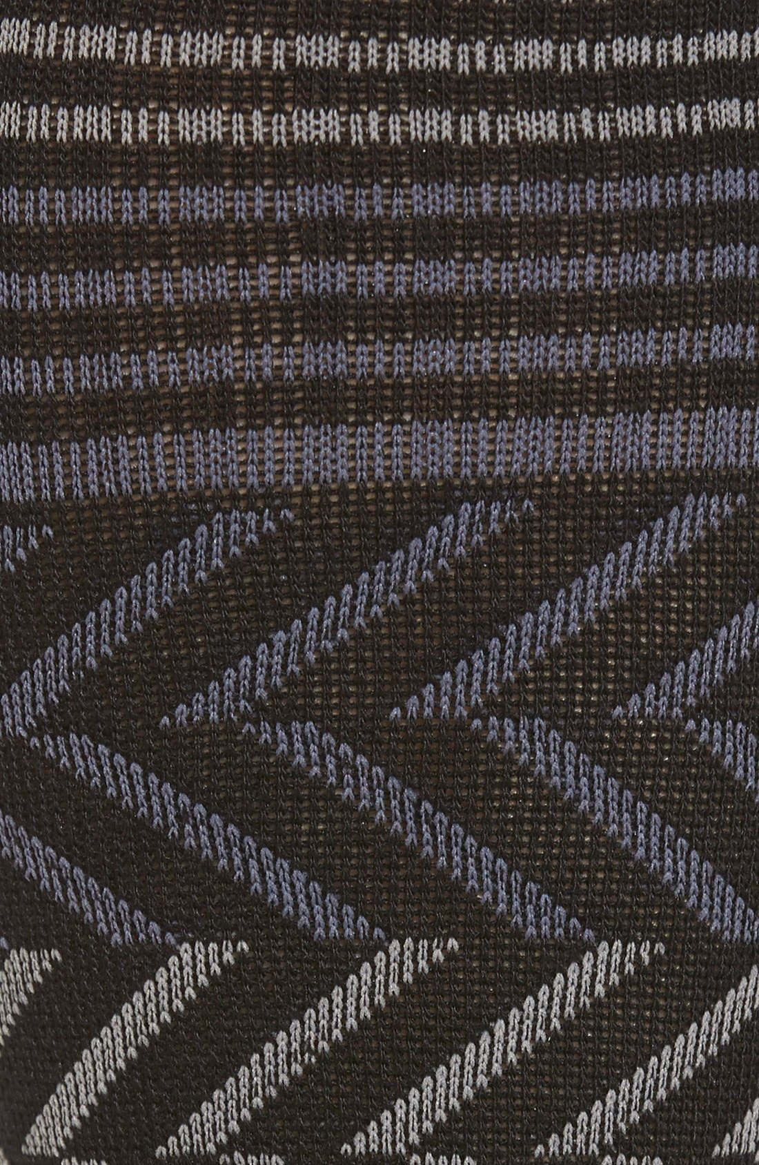 Graduated Compression Socks,                             Alternate thumbnail 3, color,                             Black