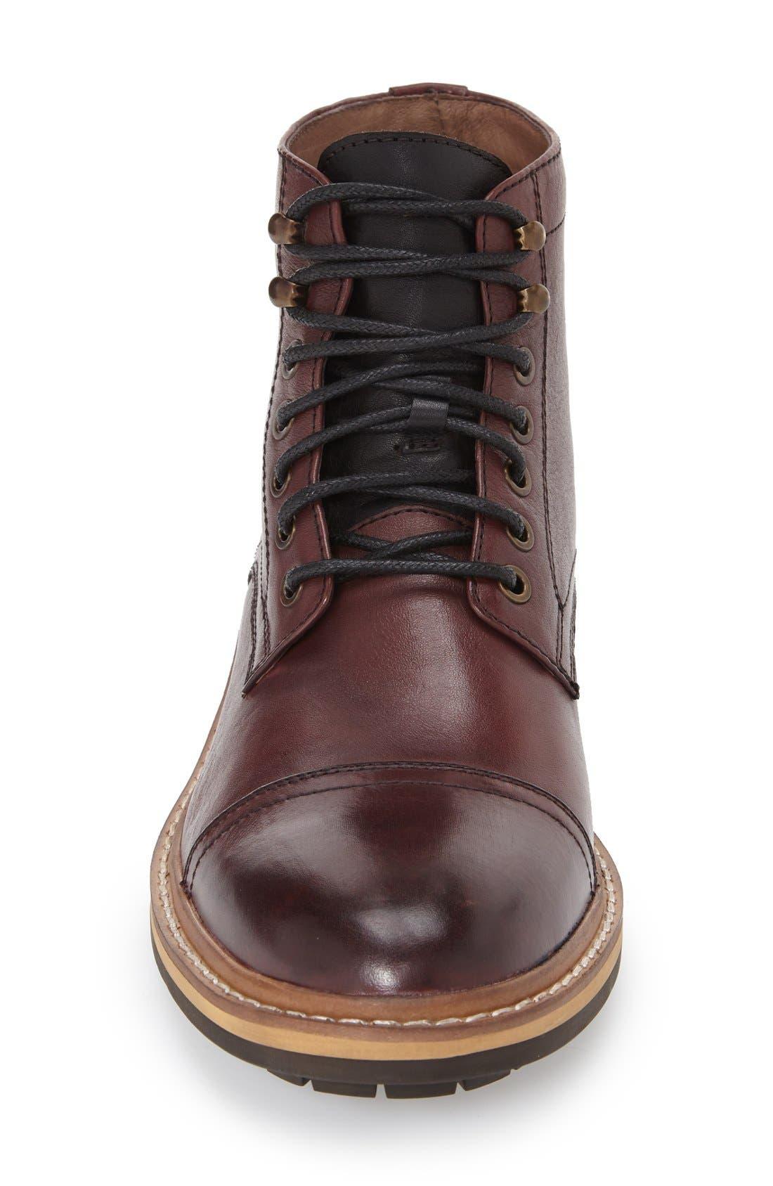 Alternate Image 3  - 1901 Collins Cap Toe Boot (Men)