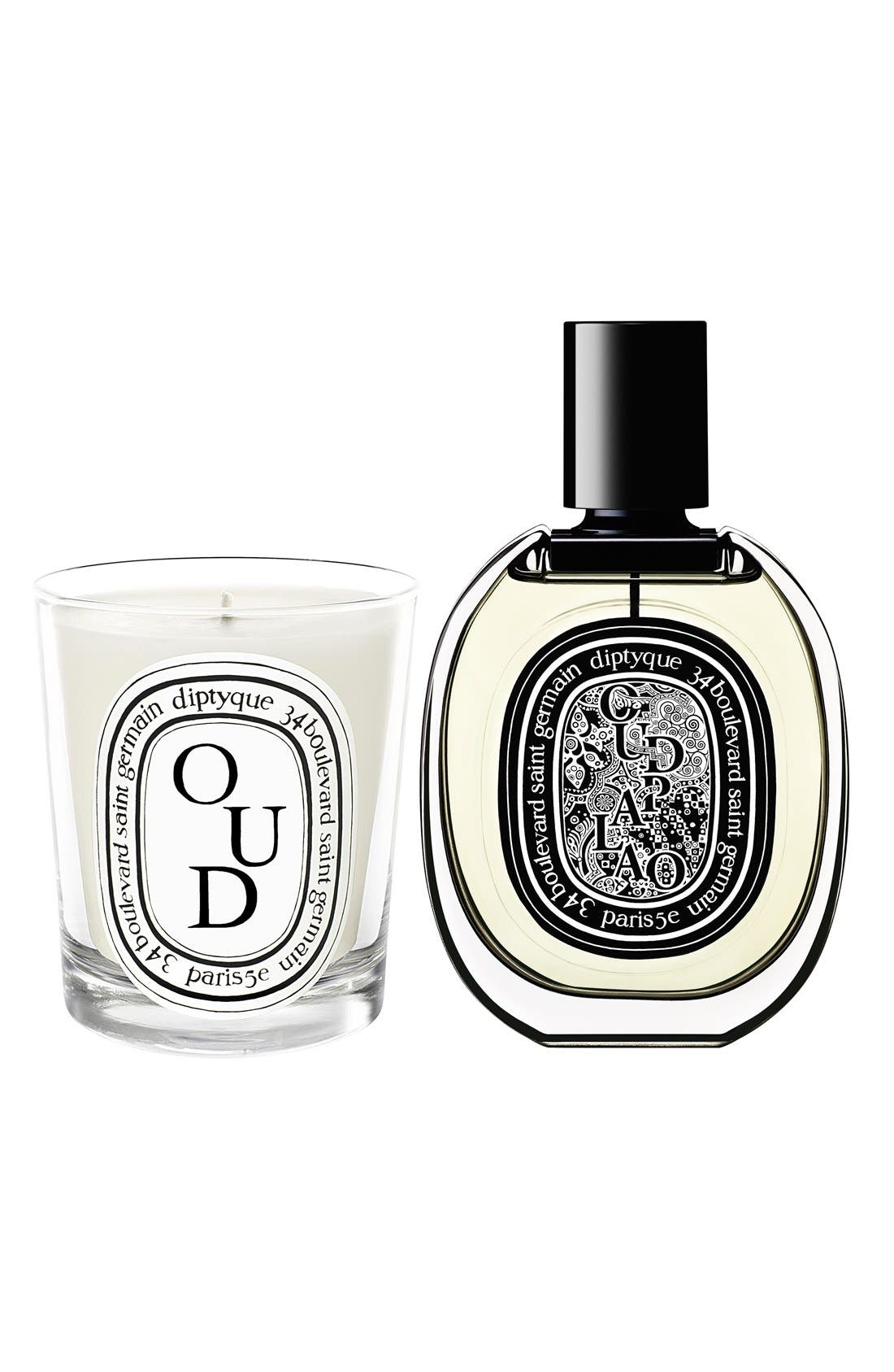 Alternate Image 2  - diptyque Oud Candle
